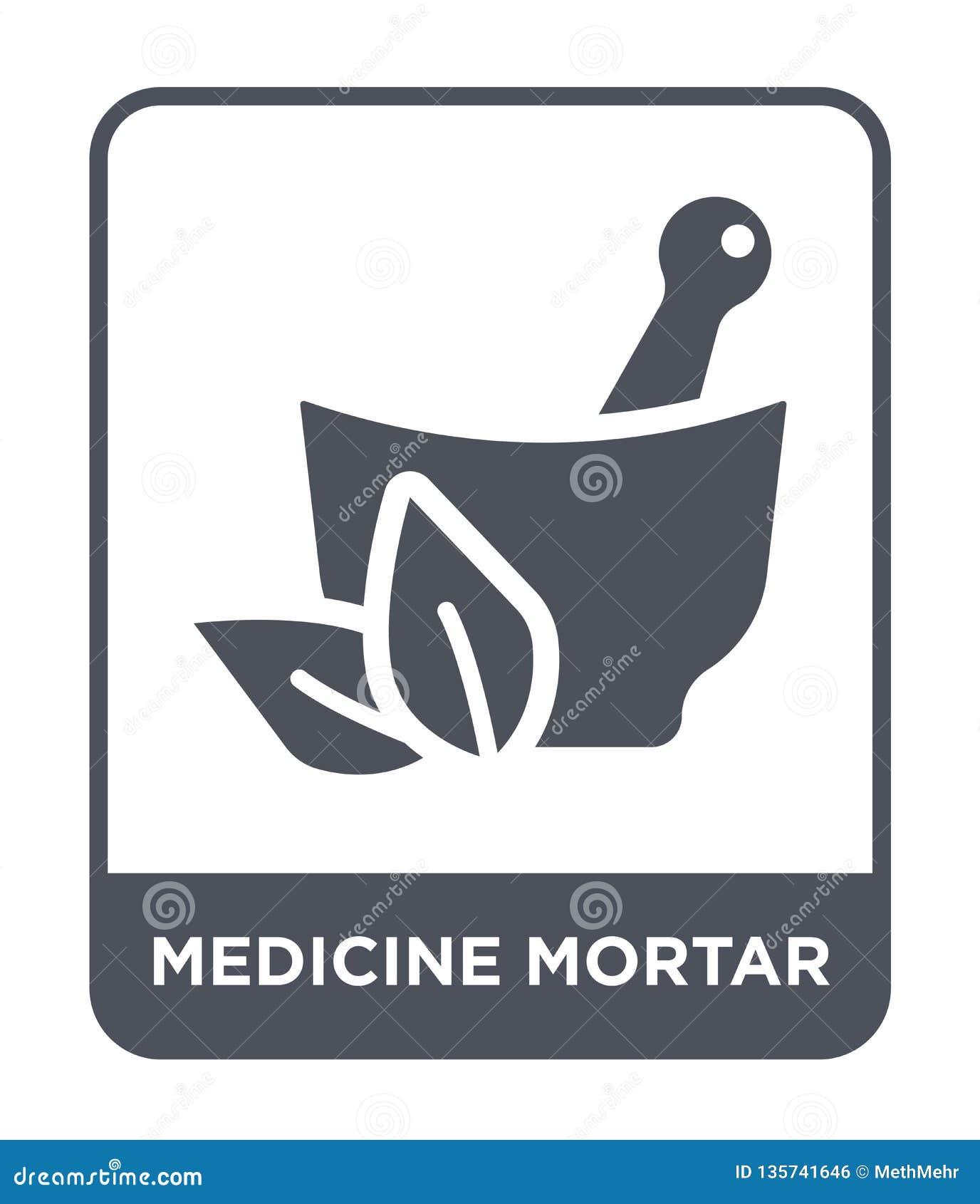 医学在时髦设计样式的灰浆象 医学在白色背景隔绝的灰浆象 医学灰浆简单传染媒介的象