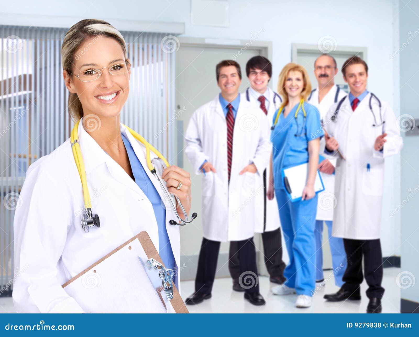 医疗人微笑
