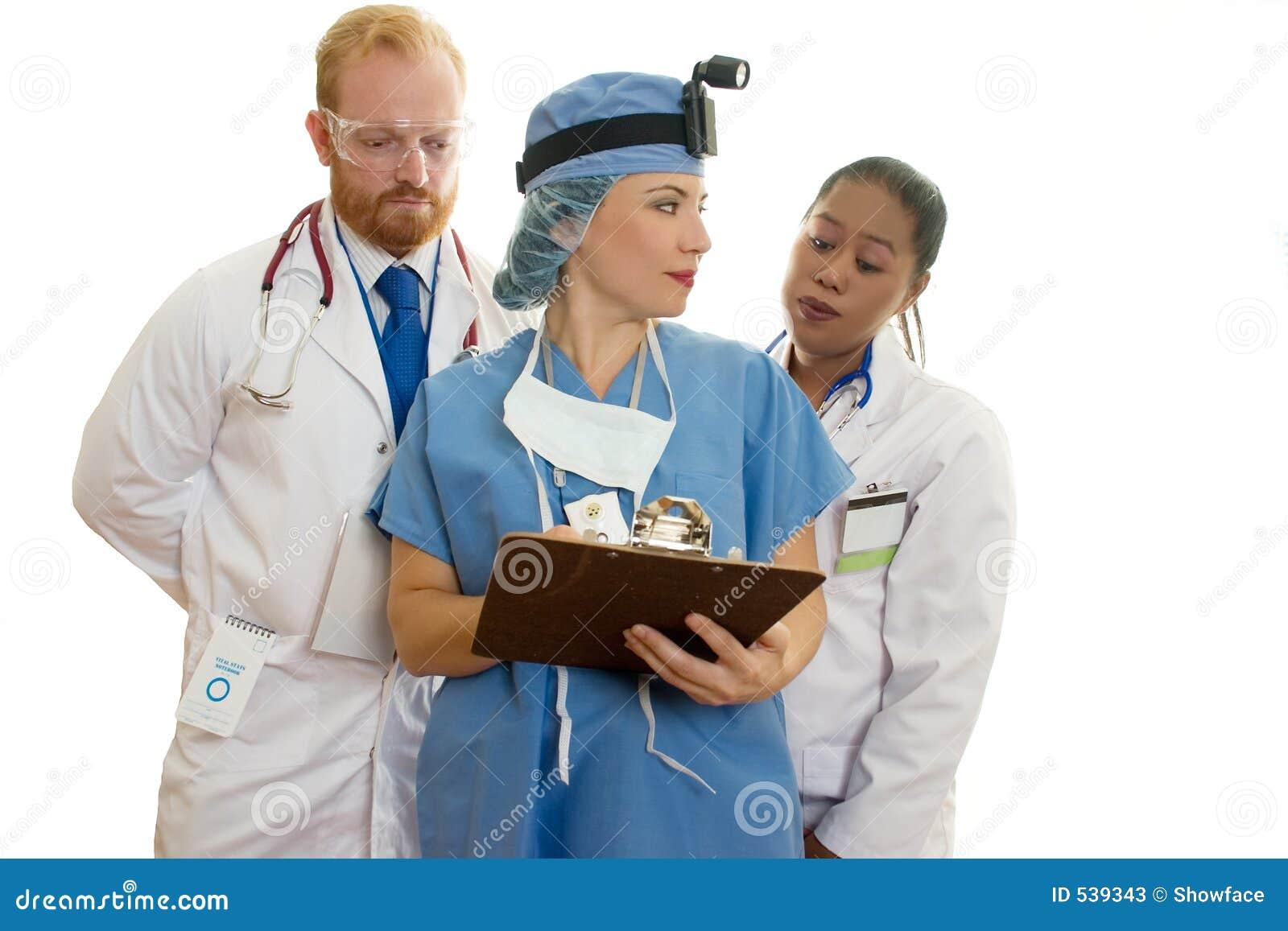 Download 医疗保健医疗人员三 库存图片. 图片 包括有 成人, 实习生, 外科医生, 诊所, 患者, 专家, 临床, 分集 - 539343