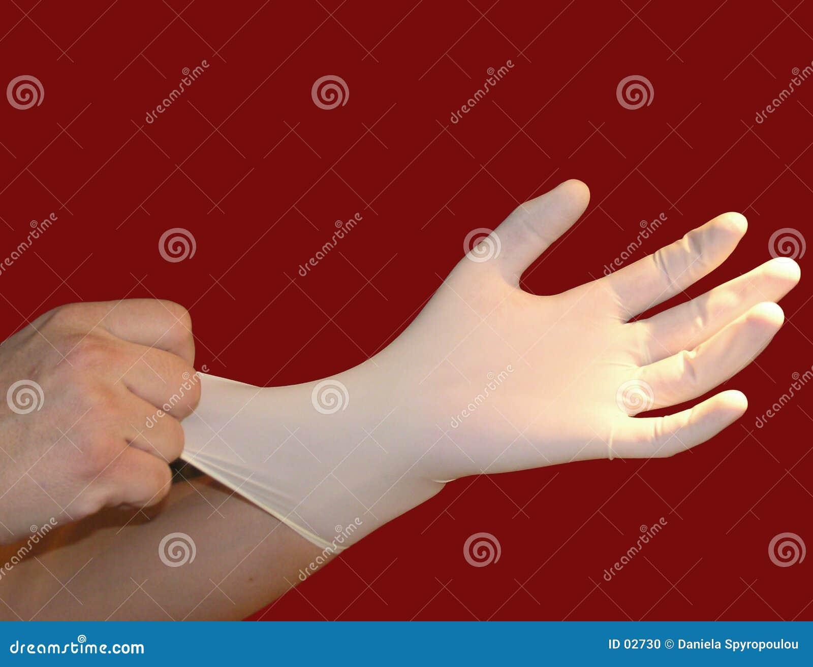 医疗的手套