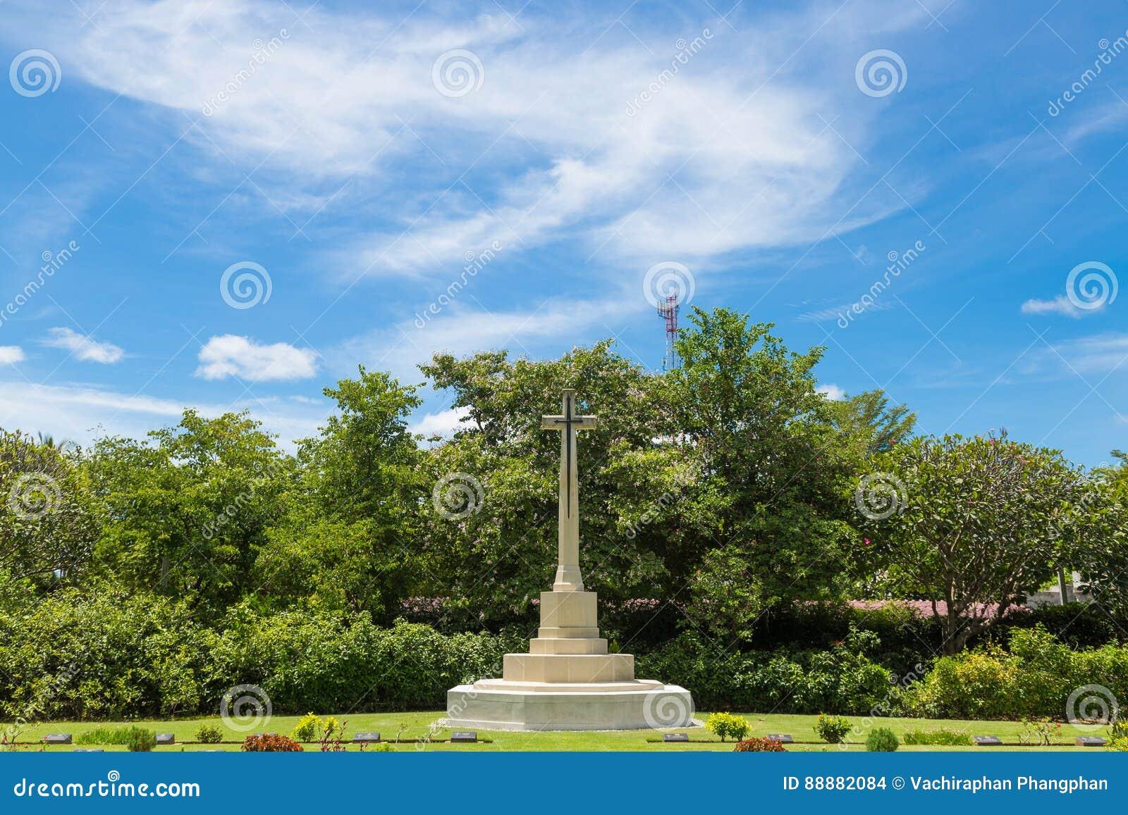十字架在公墓