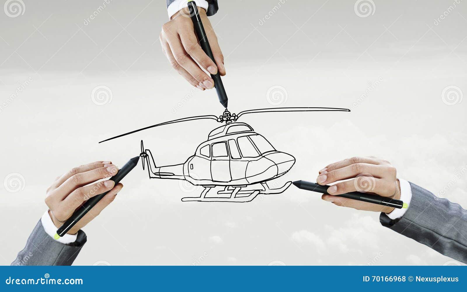 直升机模型设计