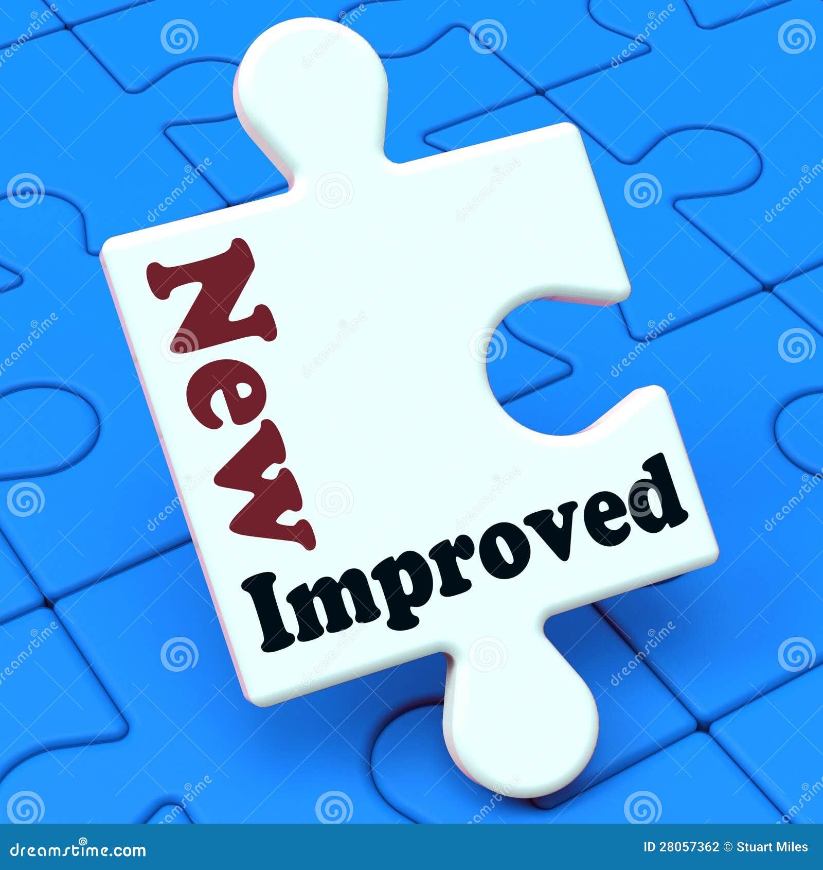 升级产品的新的被改进的平均值发展