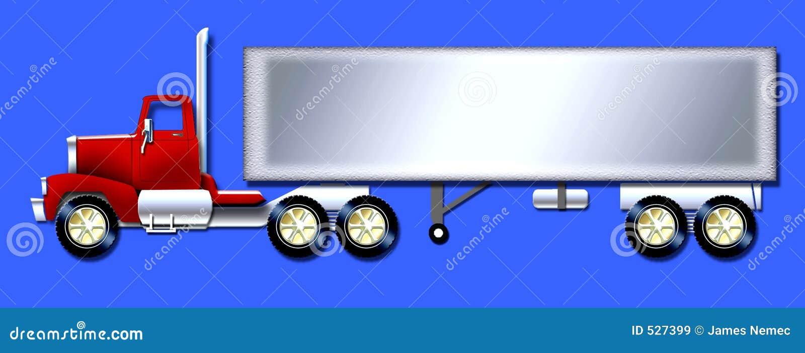 Download 半拖车卡车 库存例证. 插画 包括有 卡车, 传送, 转存, 运输, 拖拉机, 拖车, 运费, 半拖车, 承运人 - 527399