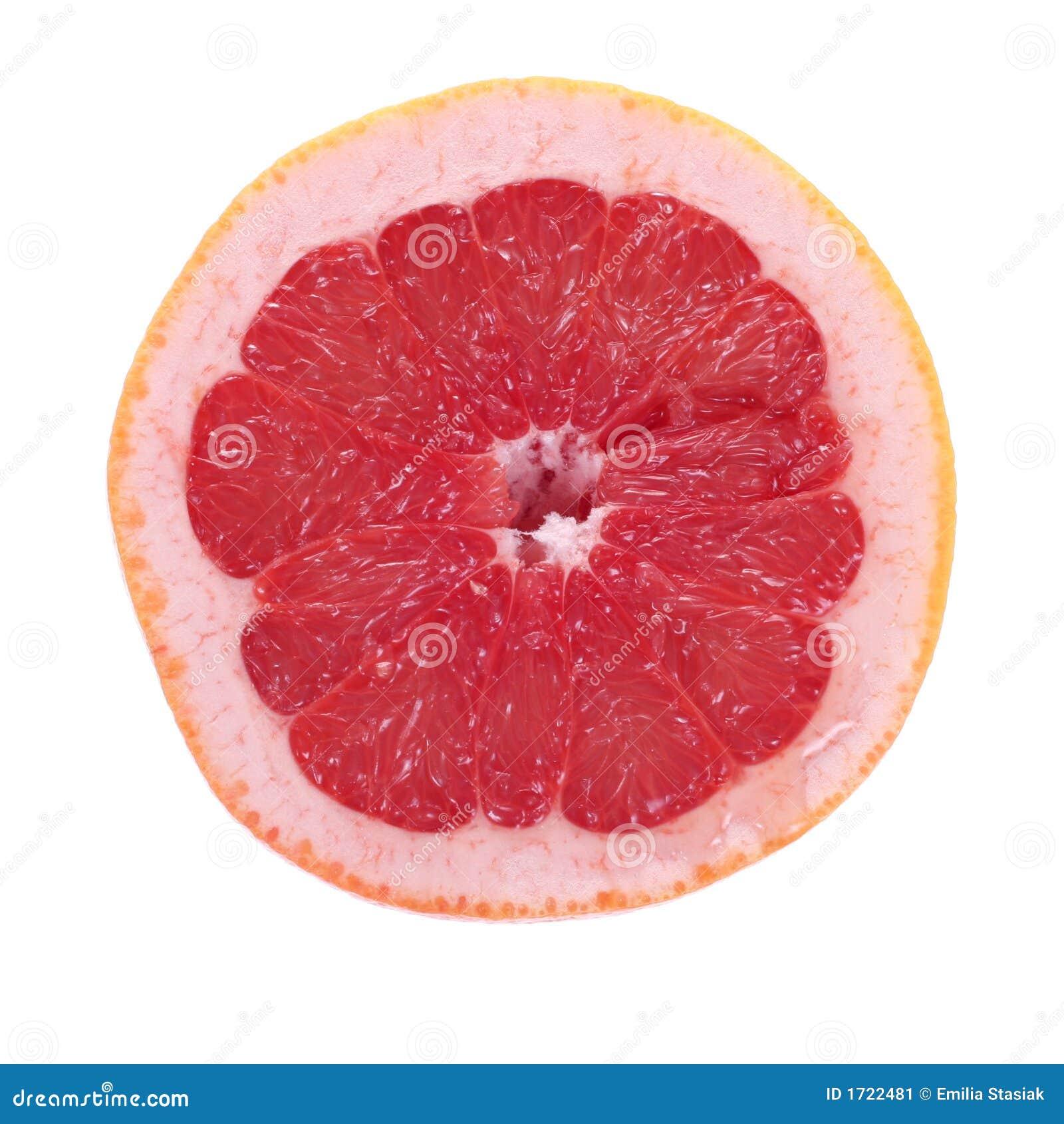 半葡萄柚粉红色