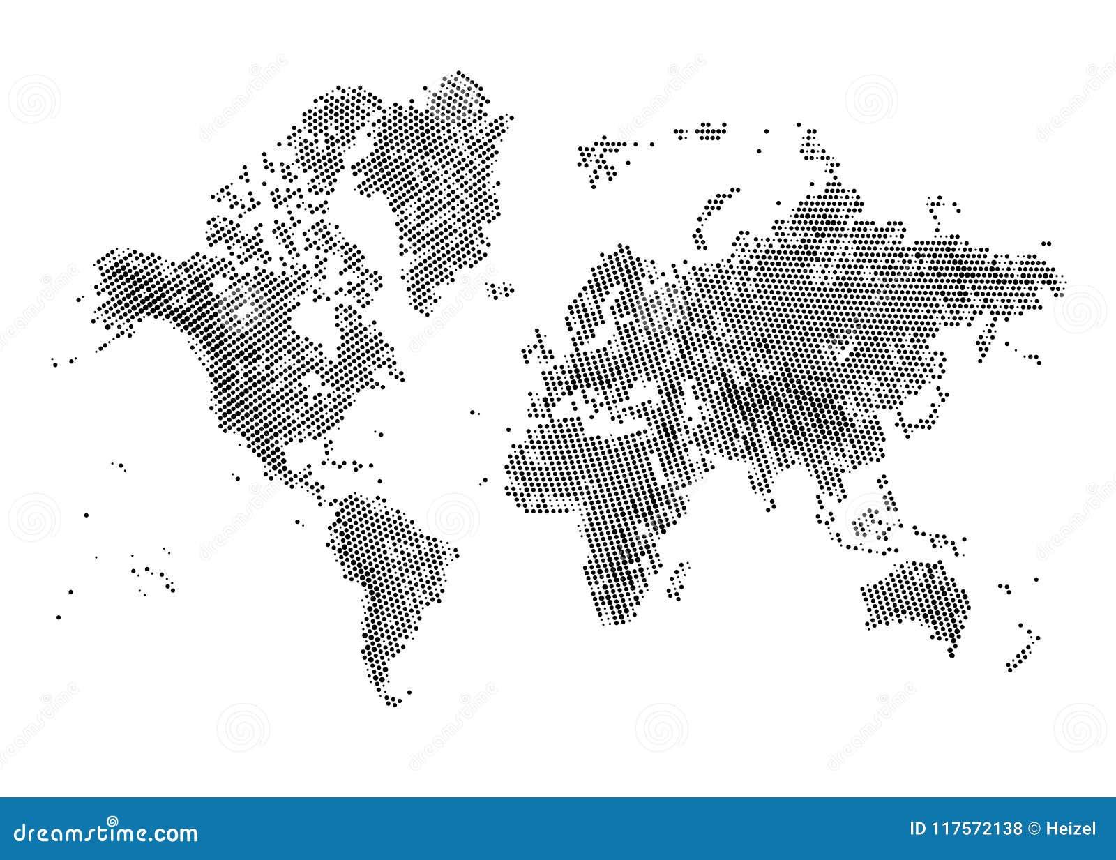 半音世界地图