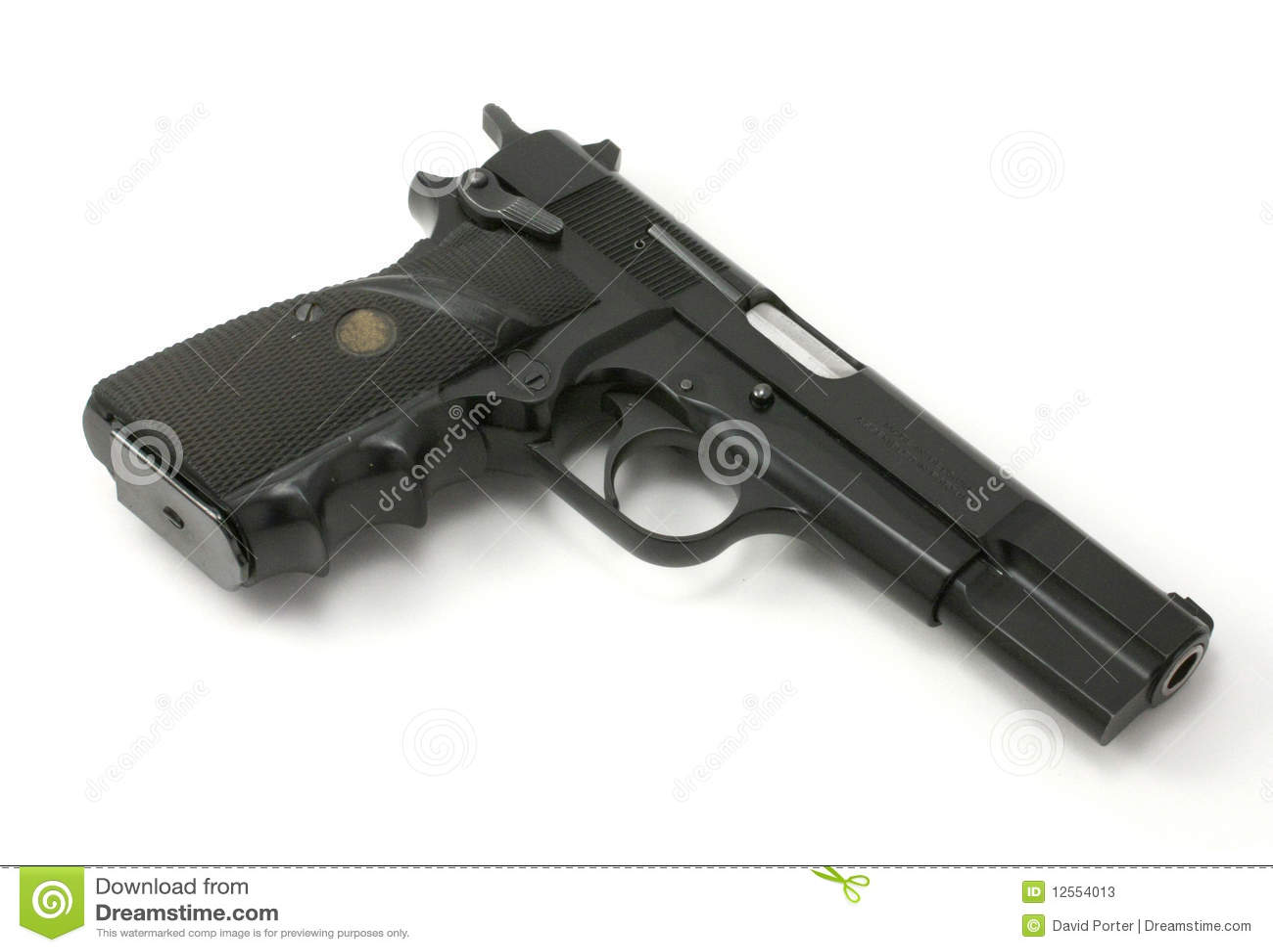 半9mm自动手枪