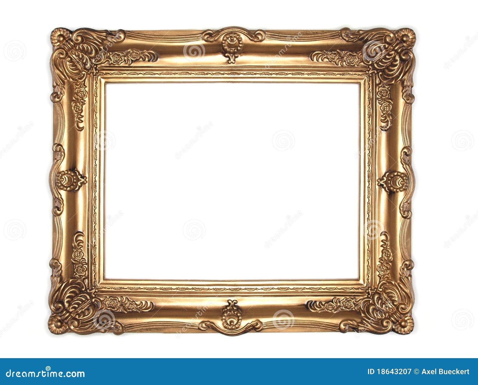 华丽框架的金子