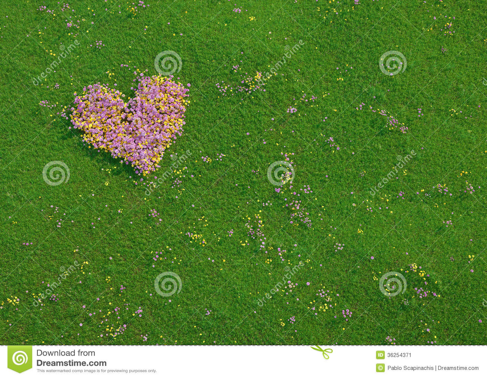 华伦泰心脏由鲜花制成