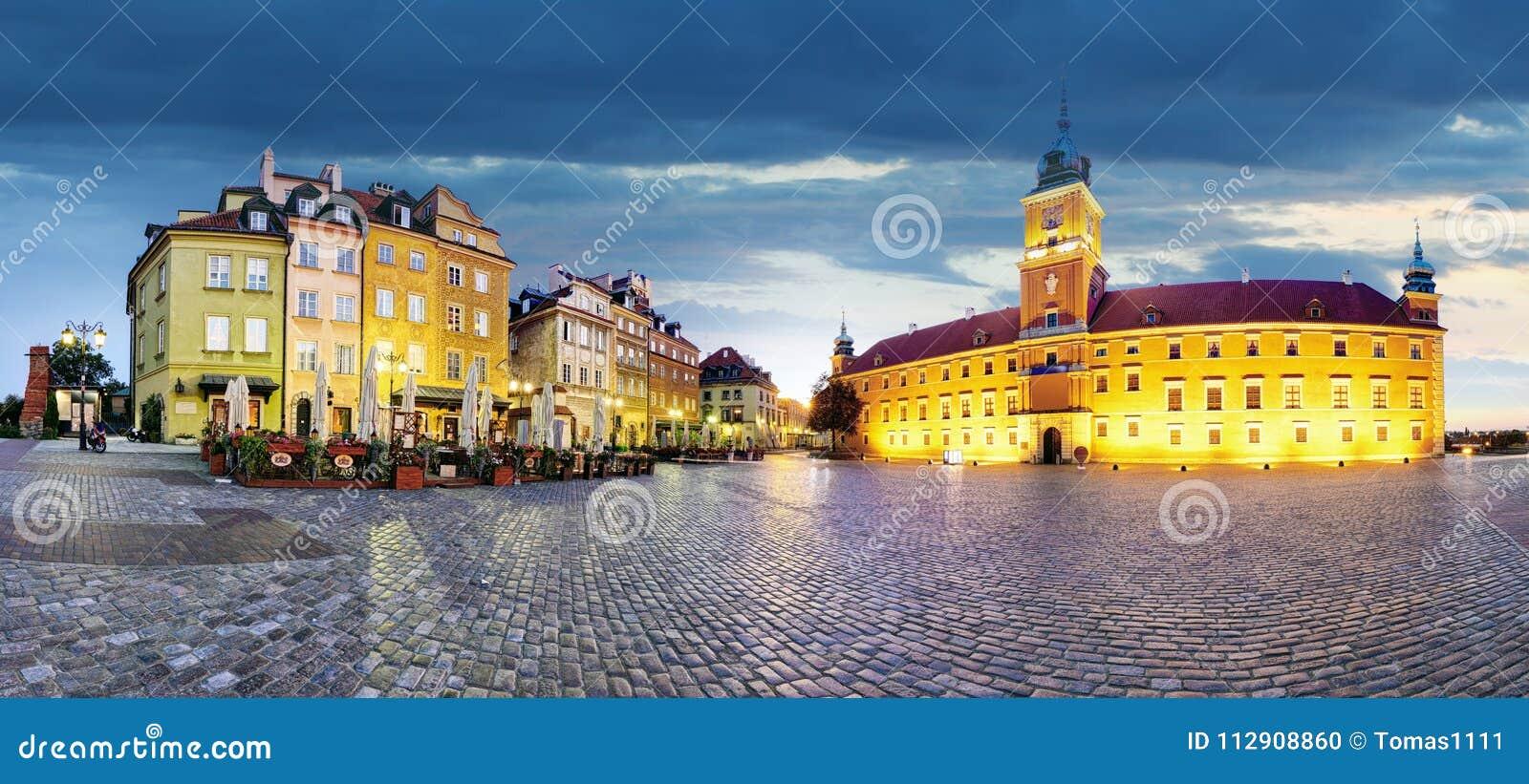 华沙老镇,波兰全景