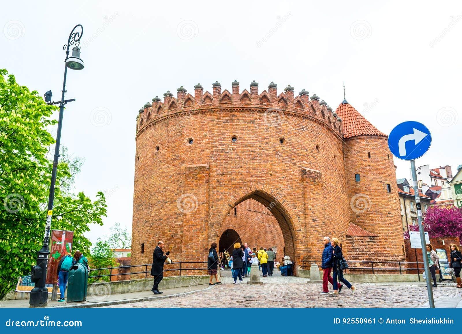 """华沙,波兰†""""2017年5月07日:外堡堡垒在华沙-加强16世纪"""