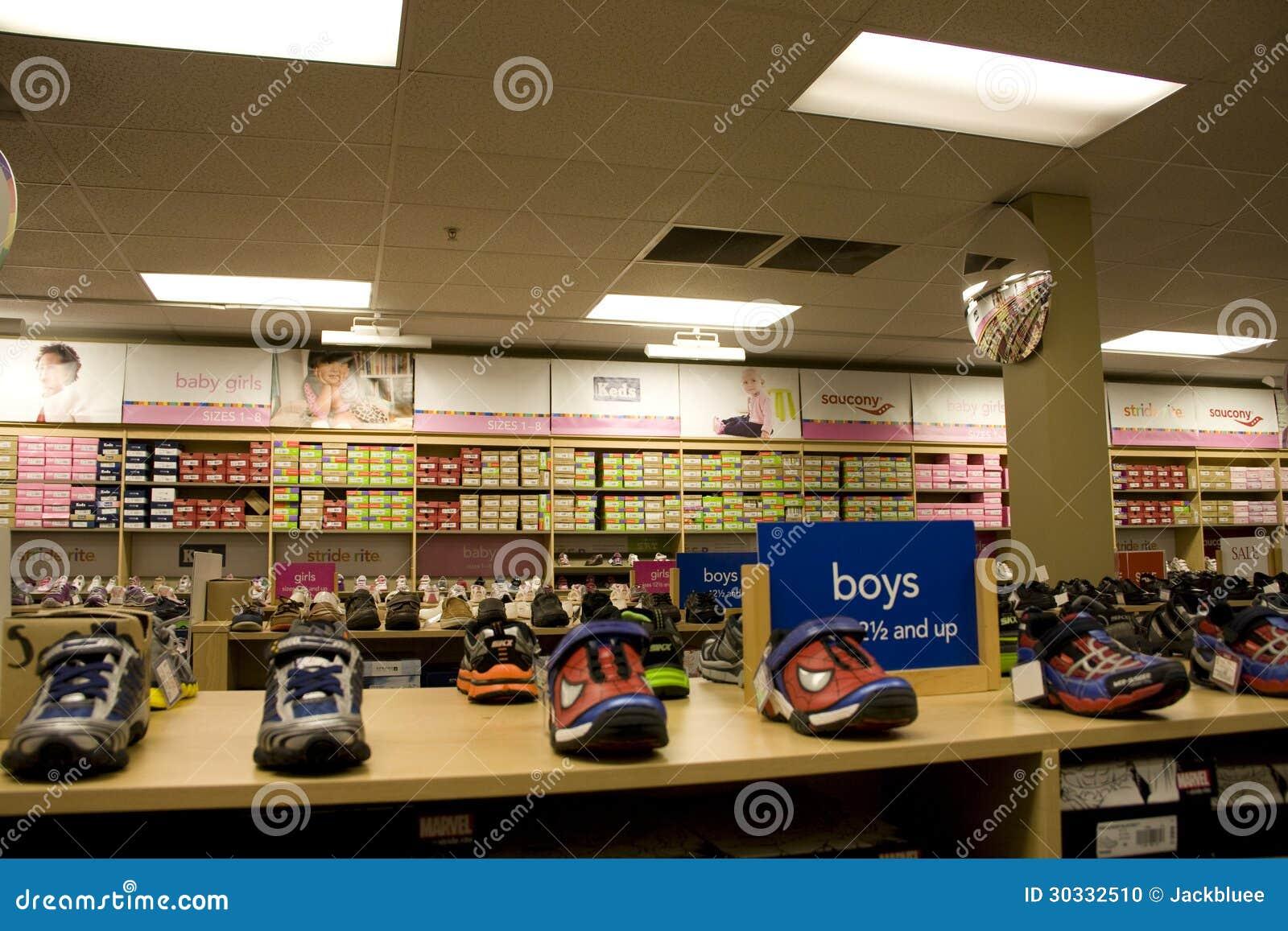 孩子体育鞋店
