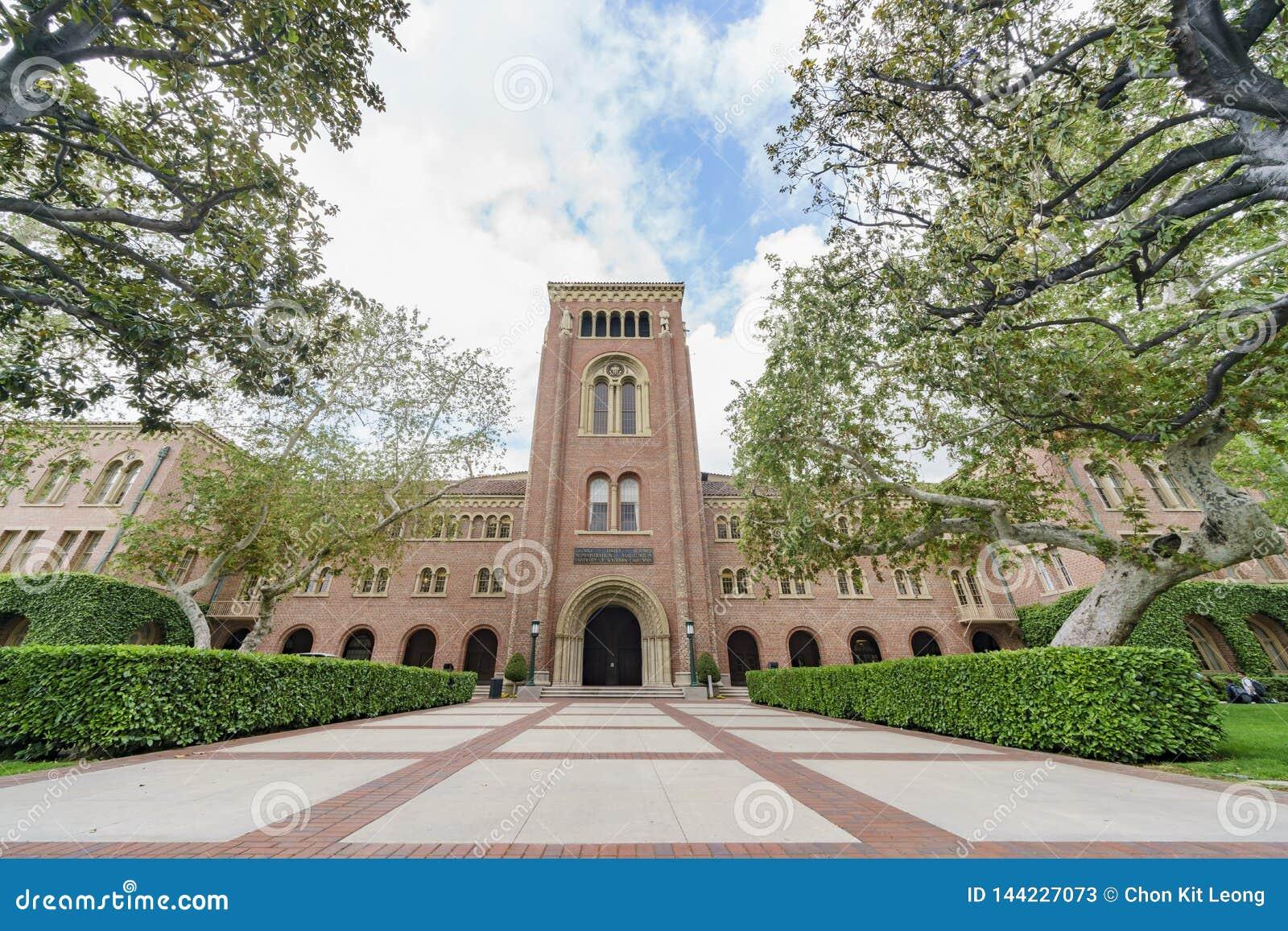 南加州大学Bovard观众席外视图