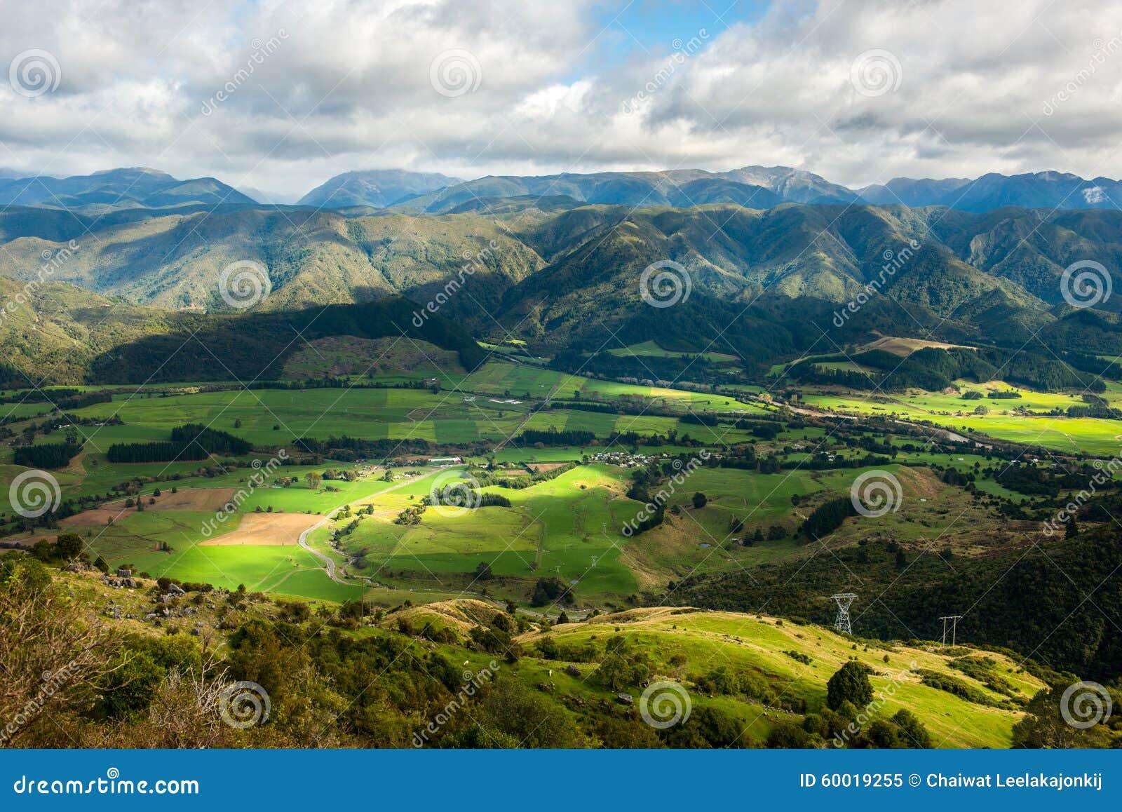 南岛,新西兰风景