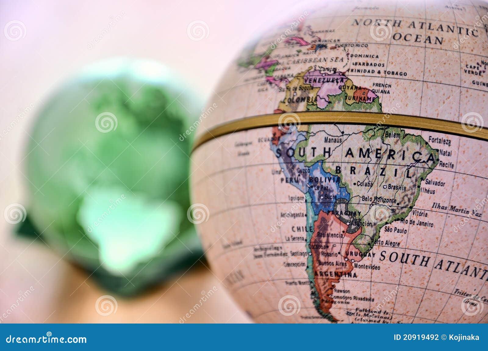 南美国的地球