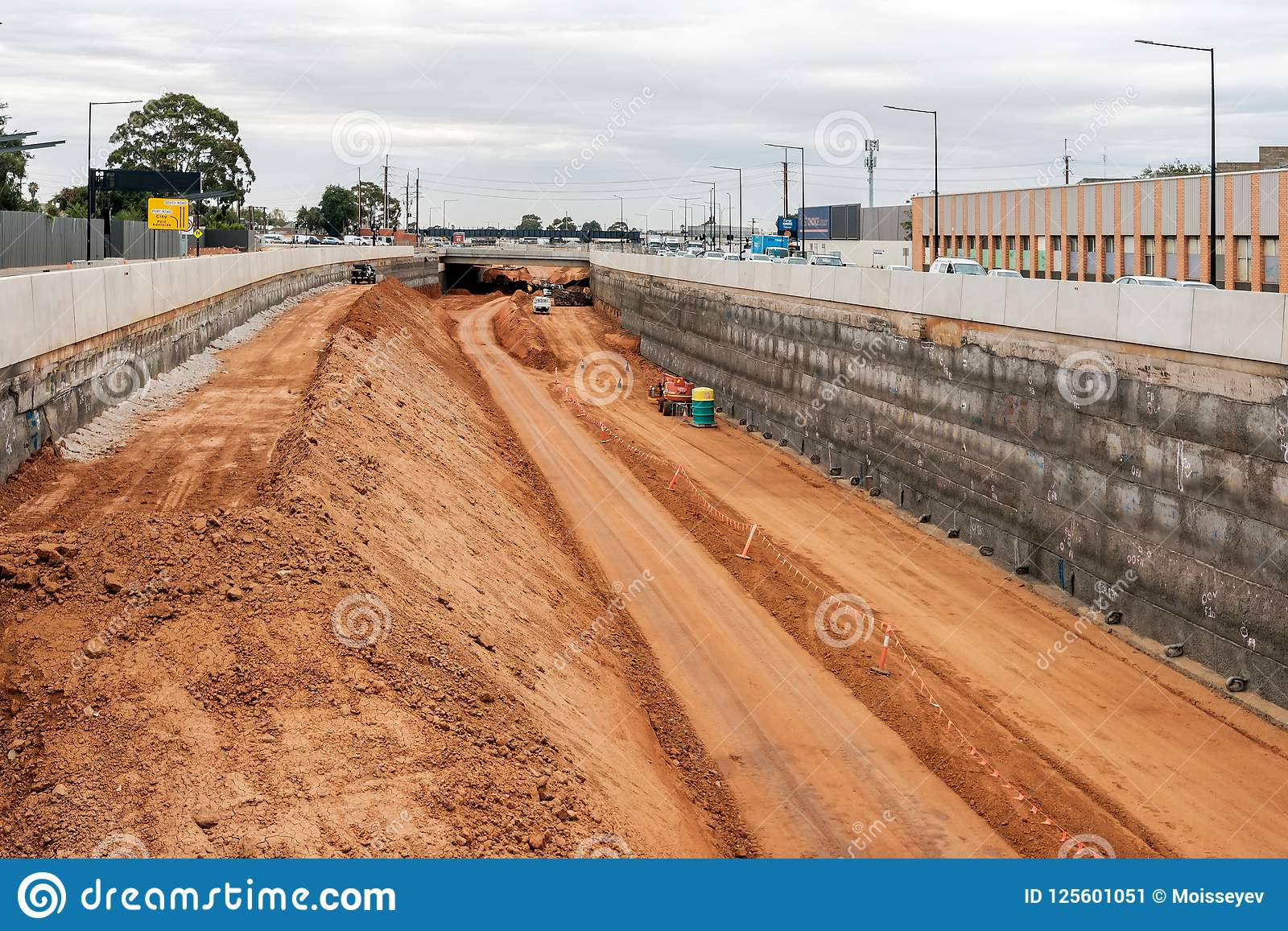 南路机动车路升级在阿德莱德,南澳大利亚