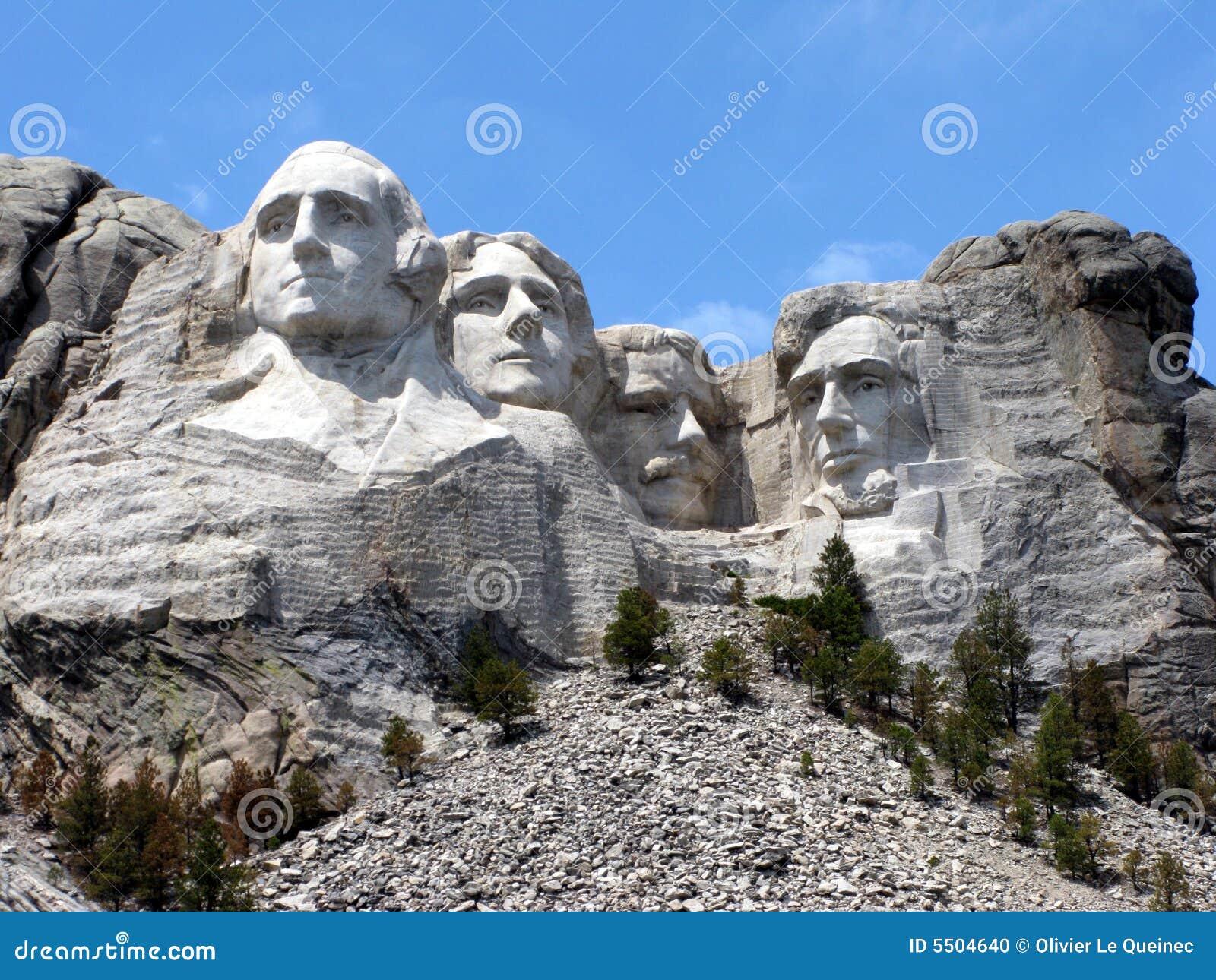 南达可它纪念挂接国家的rushmore
