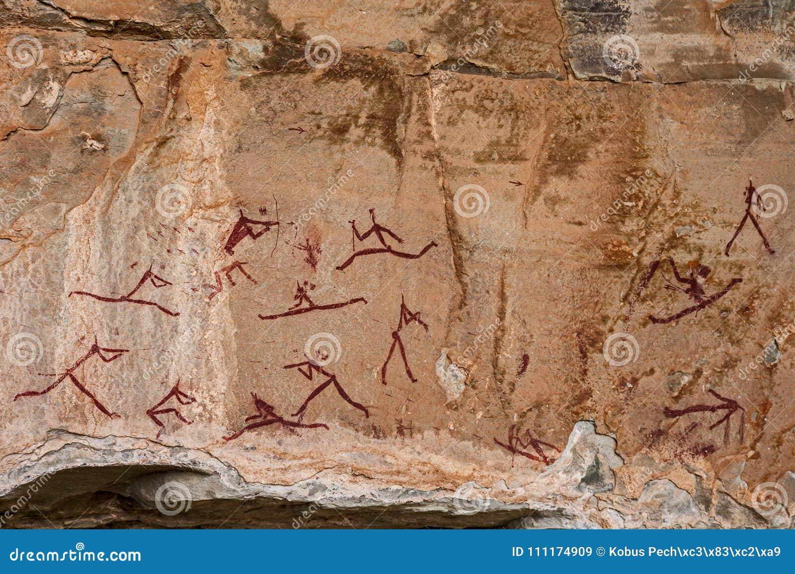 南非丛林居民岩石艺术9