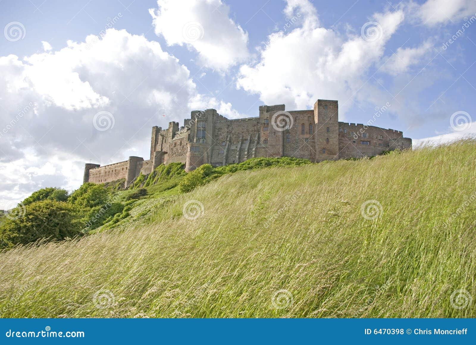南bamburgh的城堡