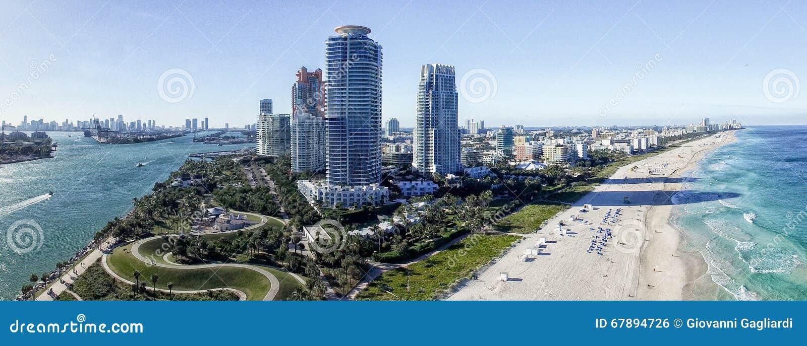 南Pointe大厦和海岸,迈阿密形式空气