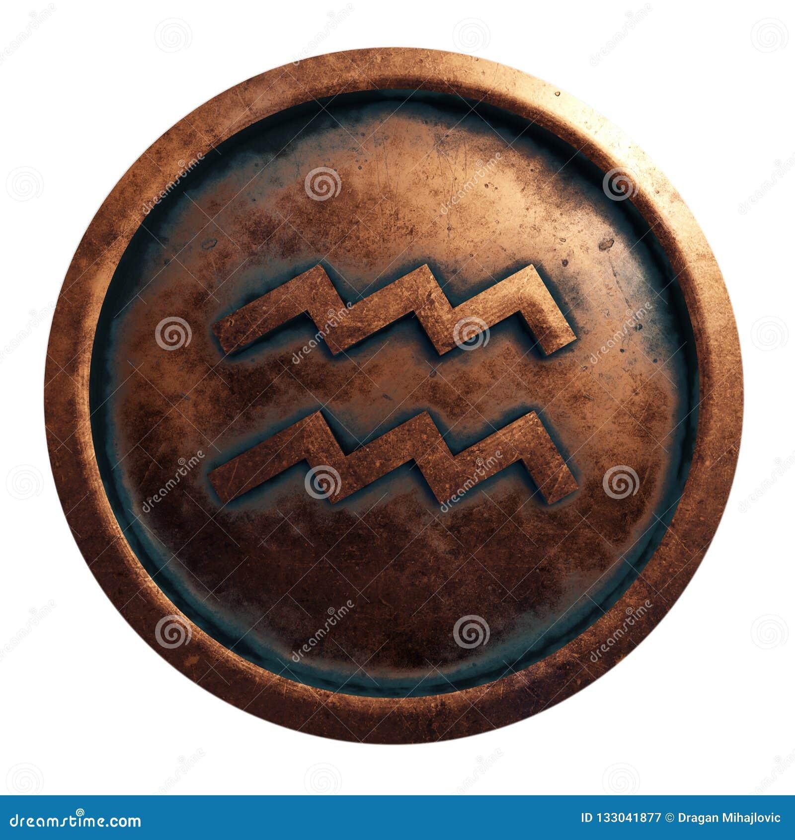占星铜圈子的标志宝瓶星座