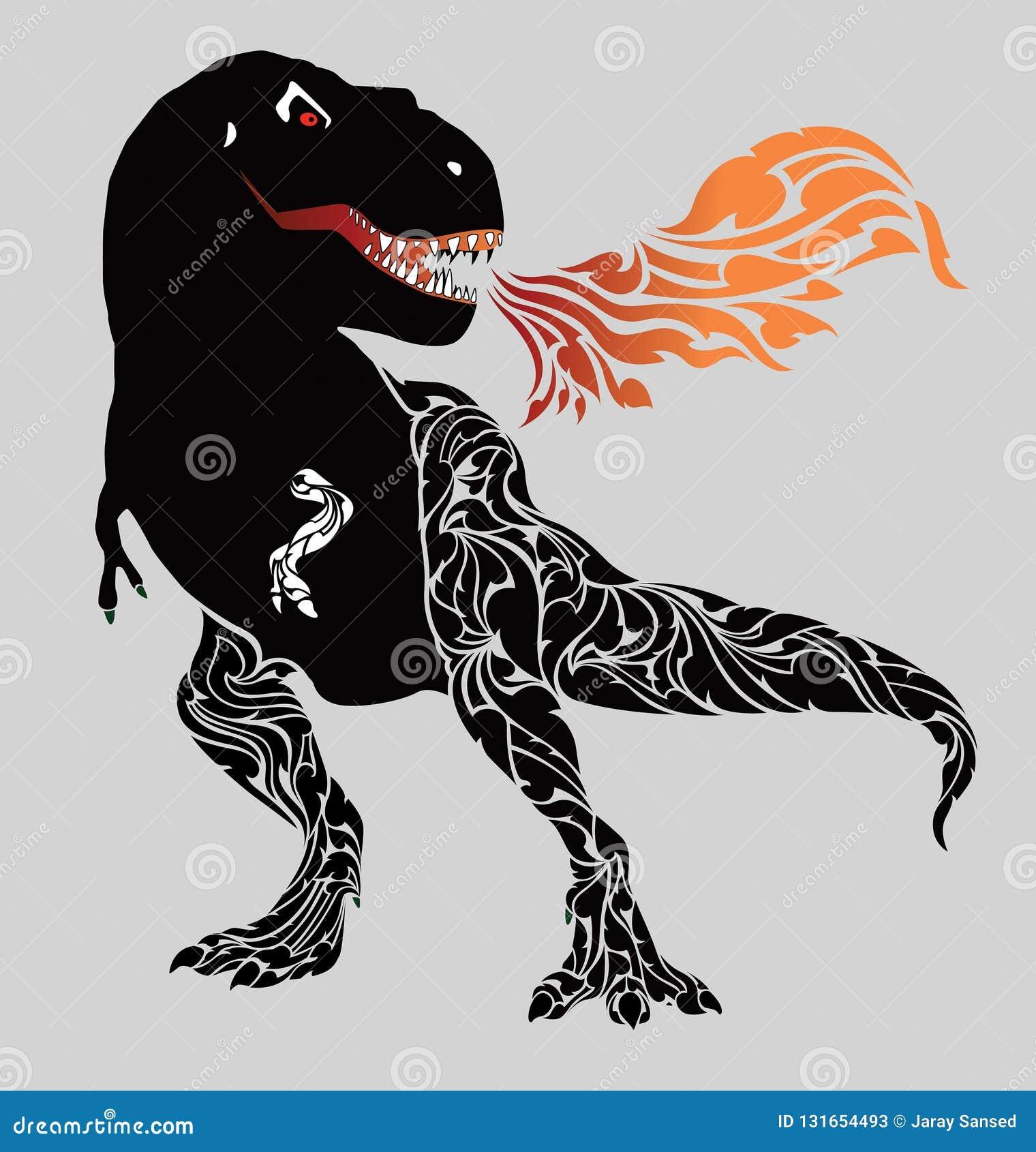 占领忠实凶猛的恐龙