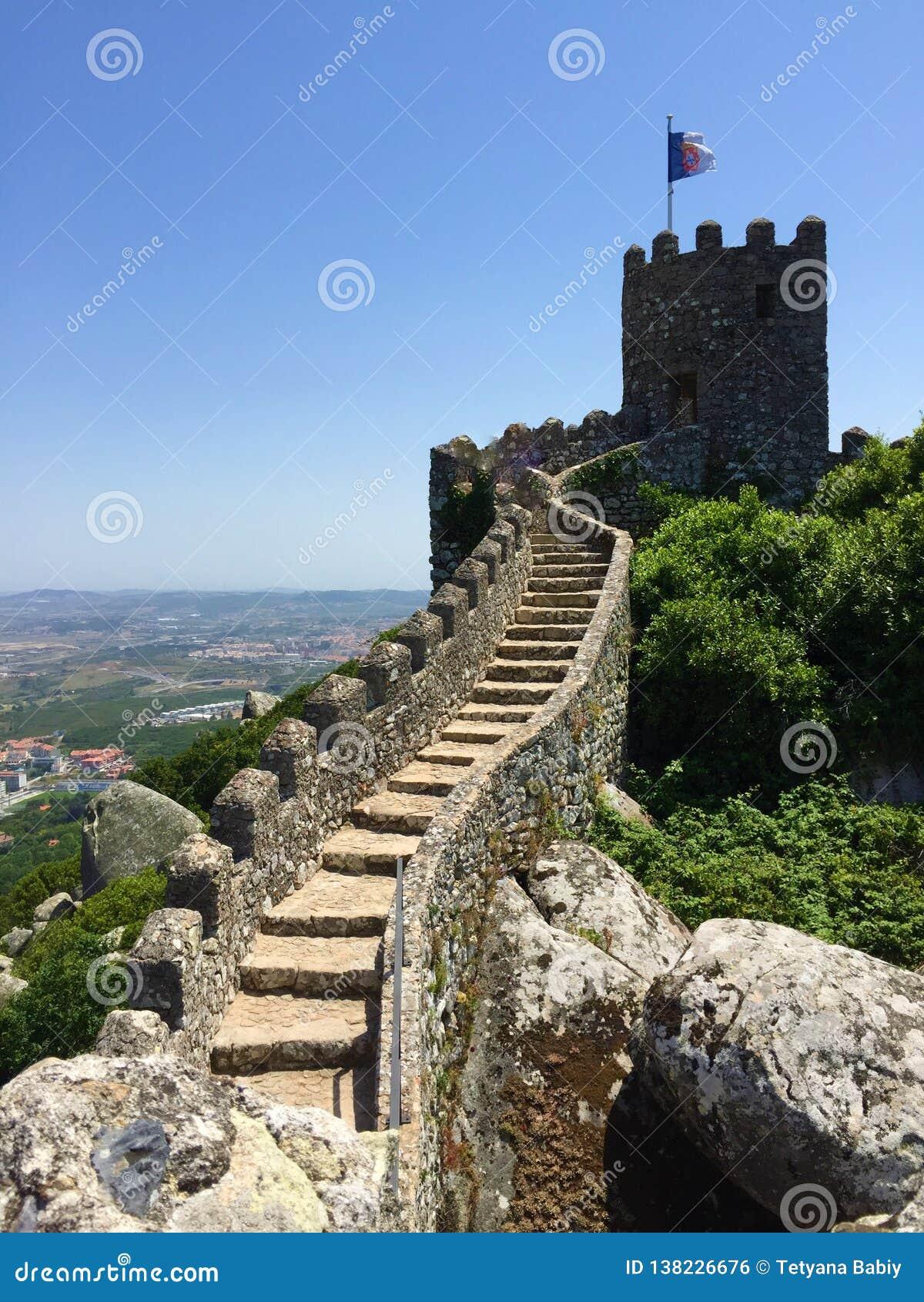 卡斯特鲁dos的Mouros停泊城堡