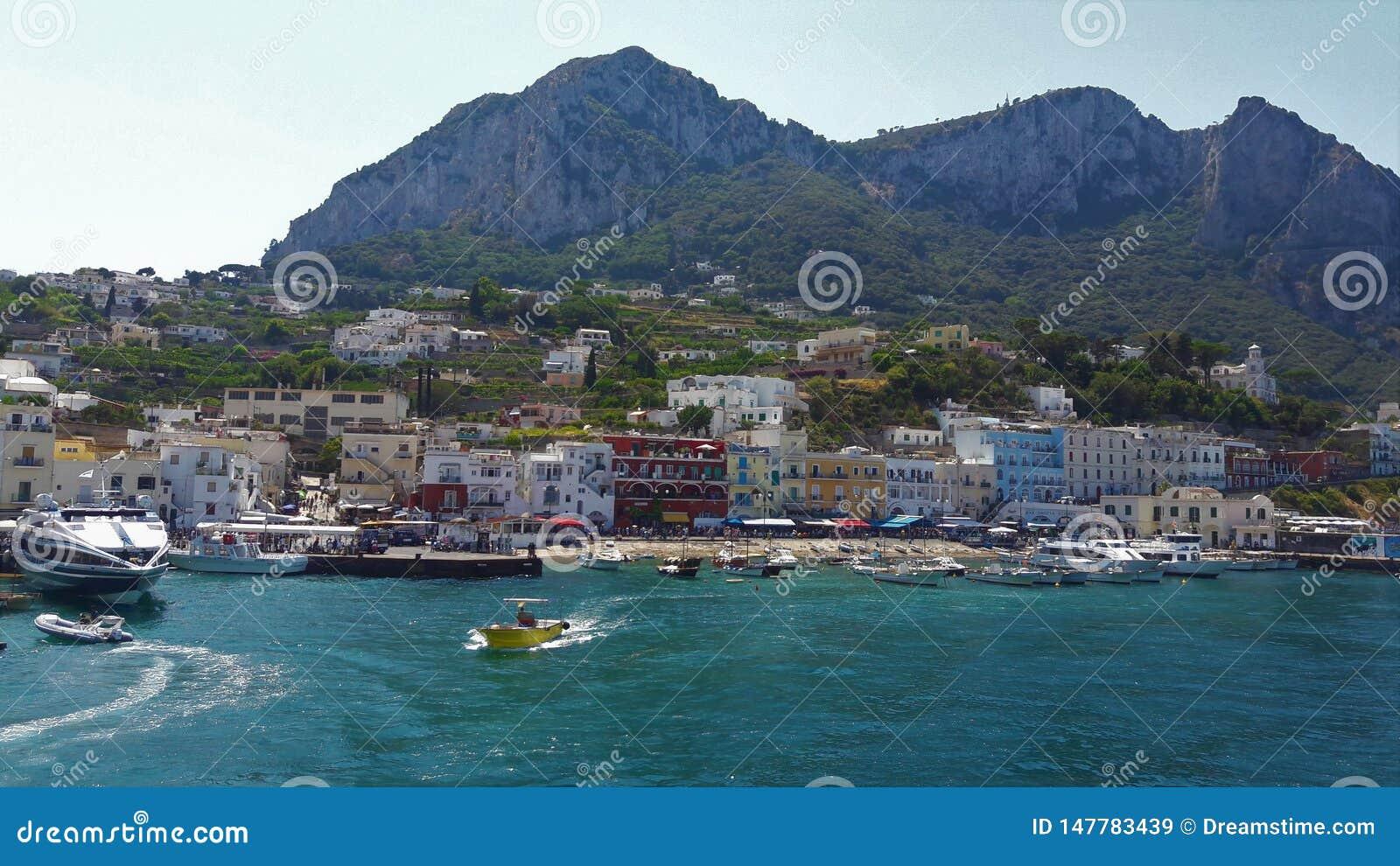 卡普里,意大利海岛