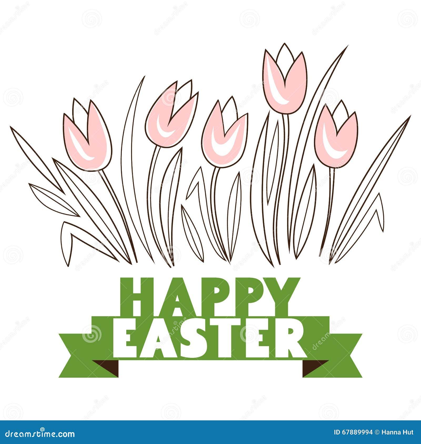 贺卡用用白色复活节兔子 滑稽的兔宝宝