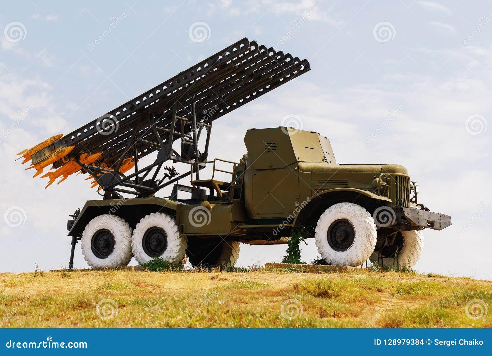 卡秋沙是一辆老俄国火炮车
