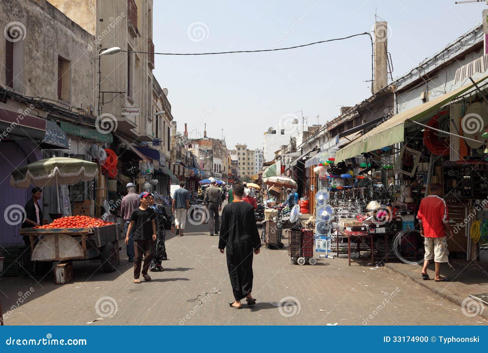 卡萨布兰卡,摩洛哥麦地那