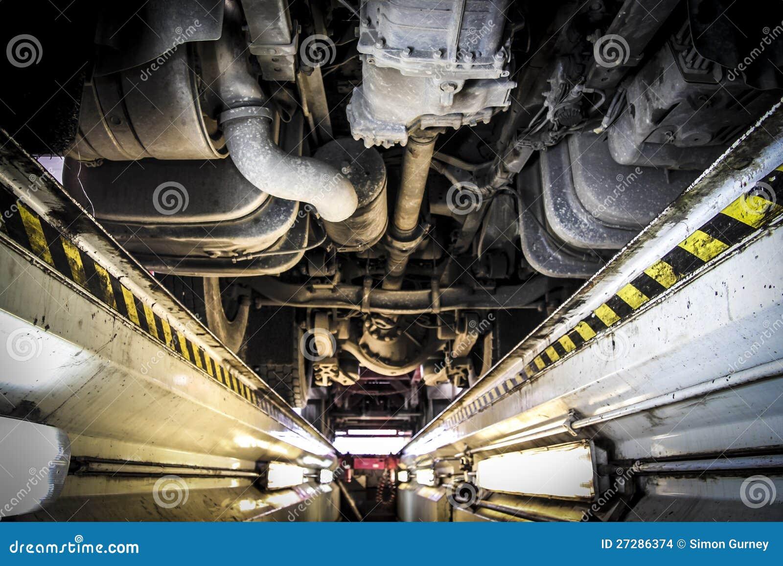 卡车维修服务讨论会检验沟槽