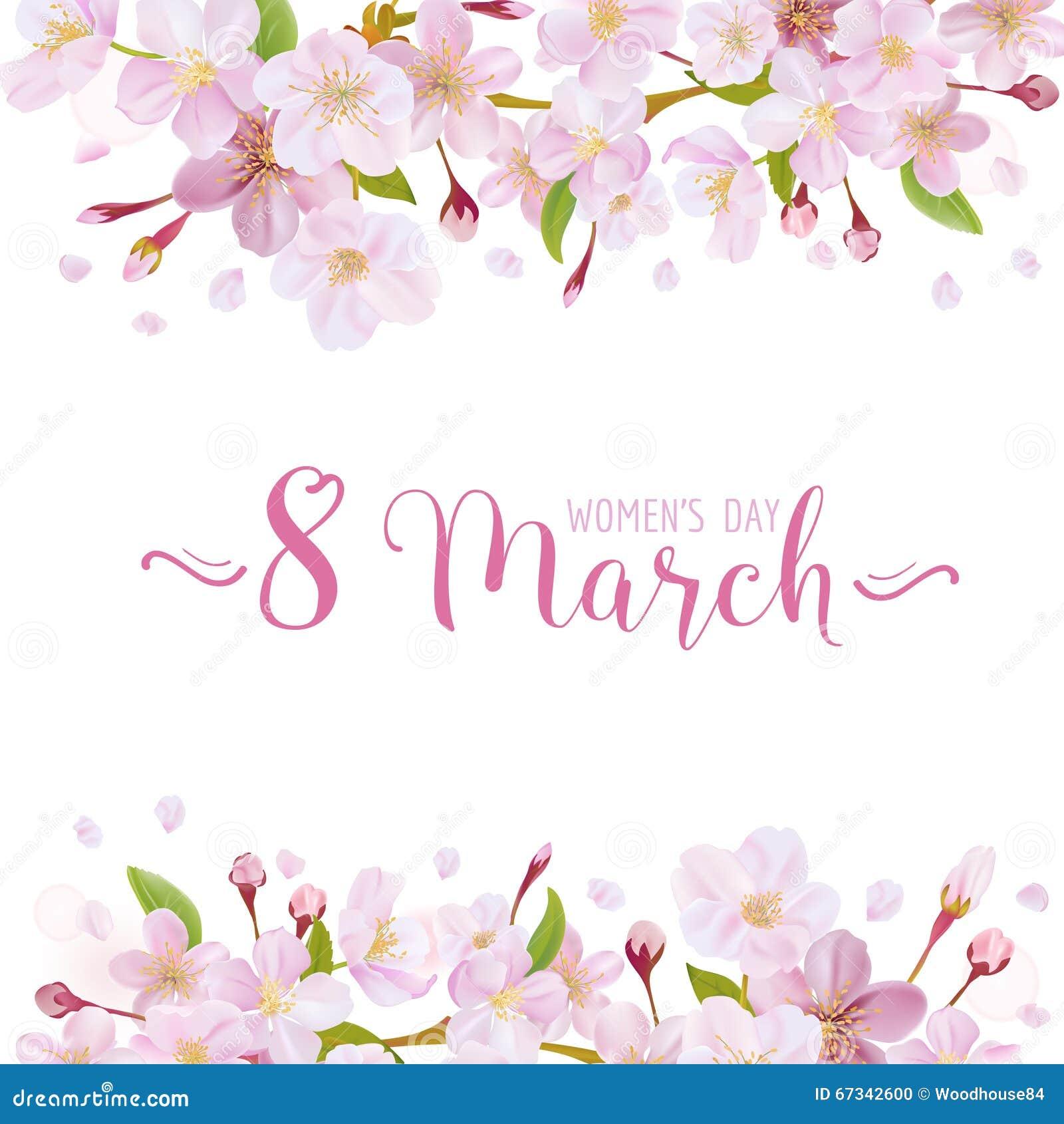 贺卡3月8日-妇女的天