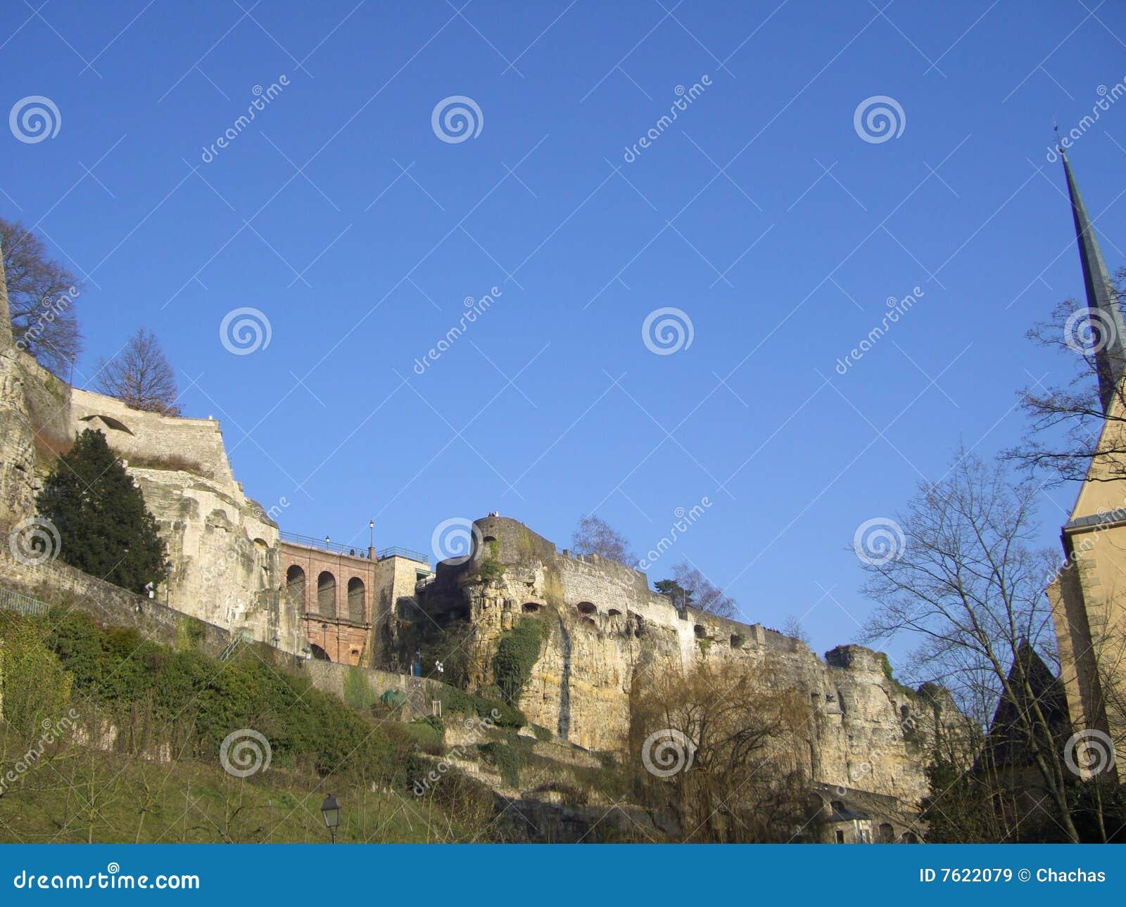 卢森堡废墟