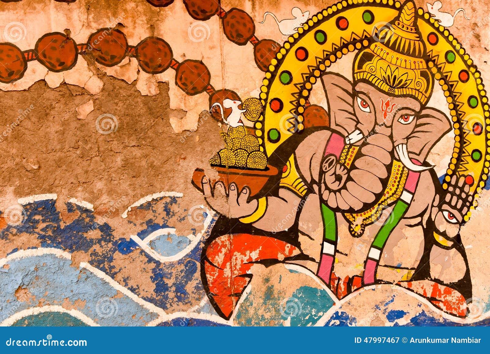 印地安上帝街道画