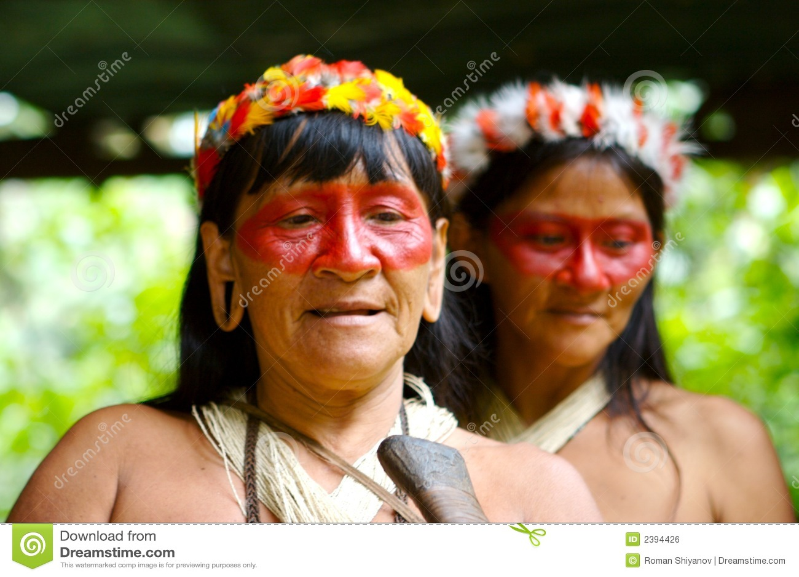 印地安人二妇女