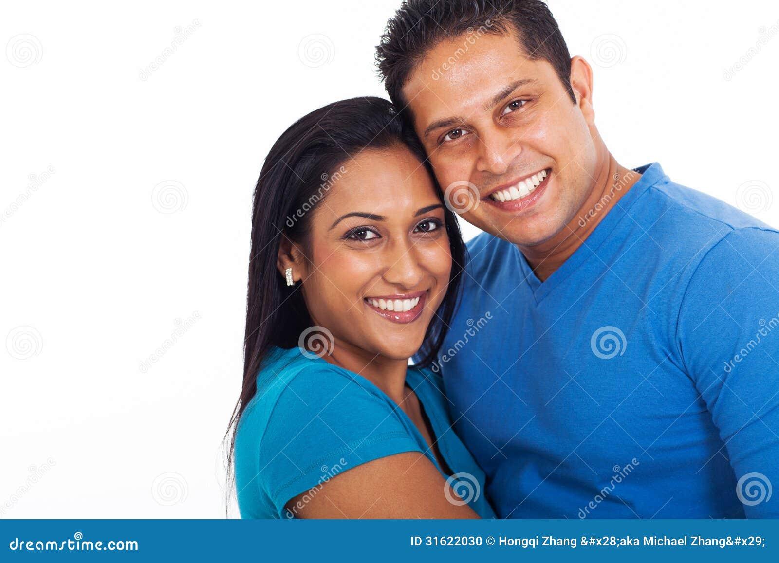 年轻印地安夫妇