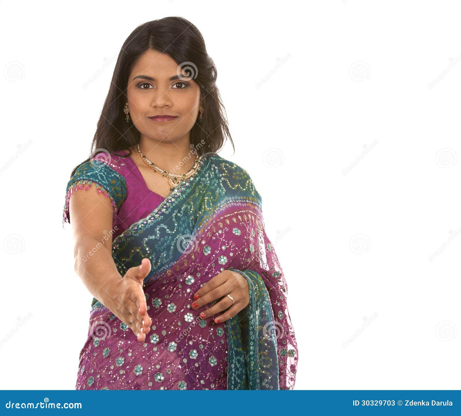 印地安妇女