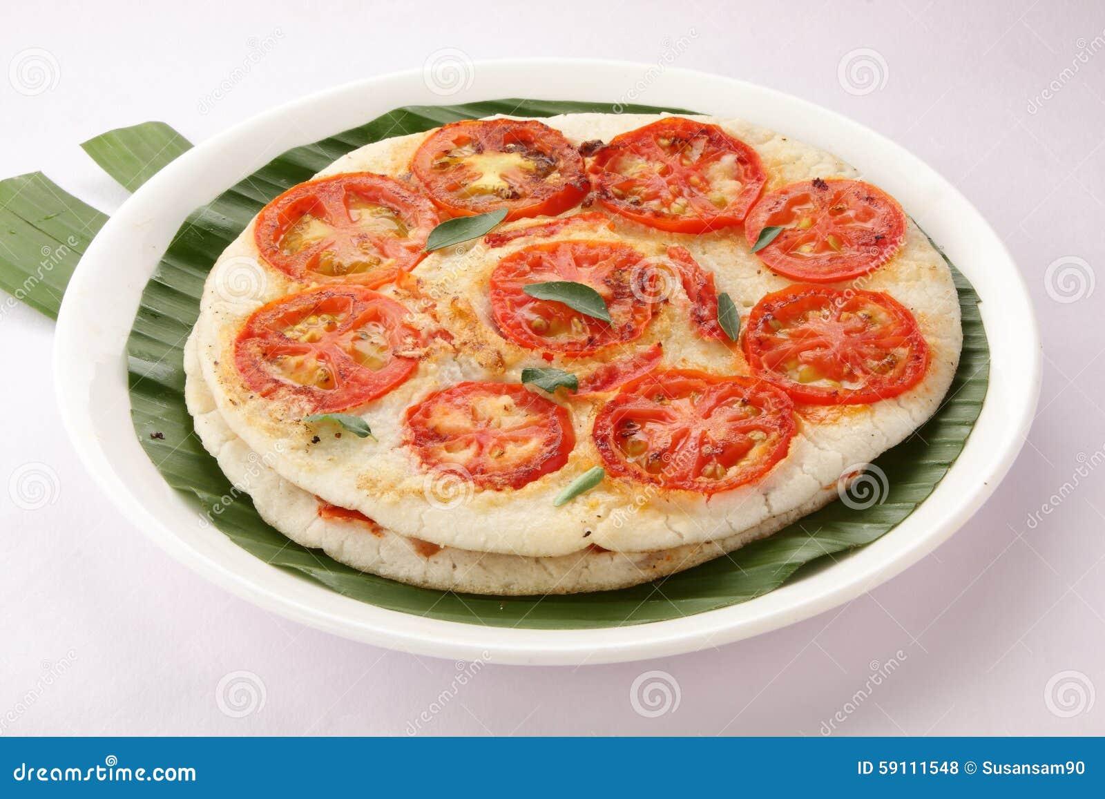 印地安早餐蕃茄utappam