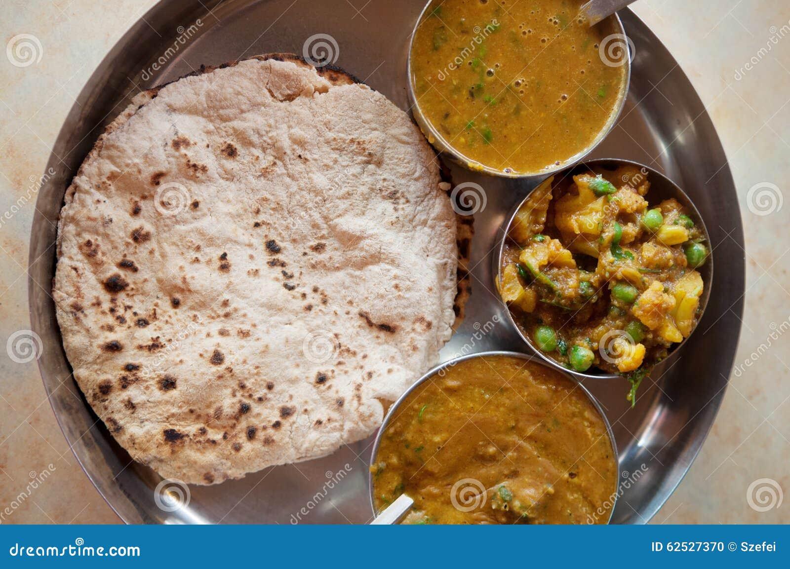 印地安食物薄饼roti