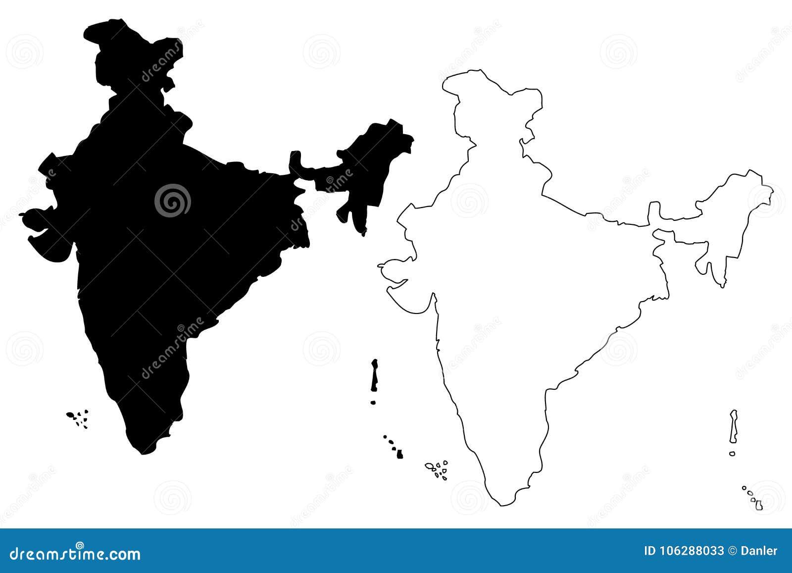 印度地图传染媒介