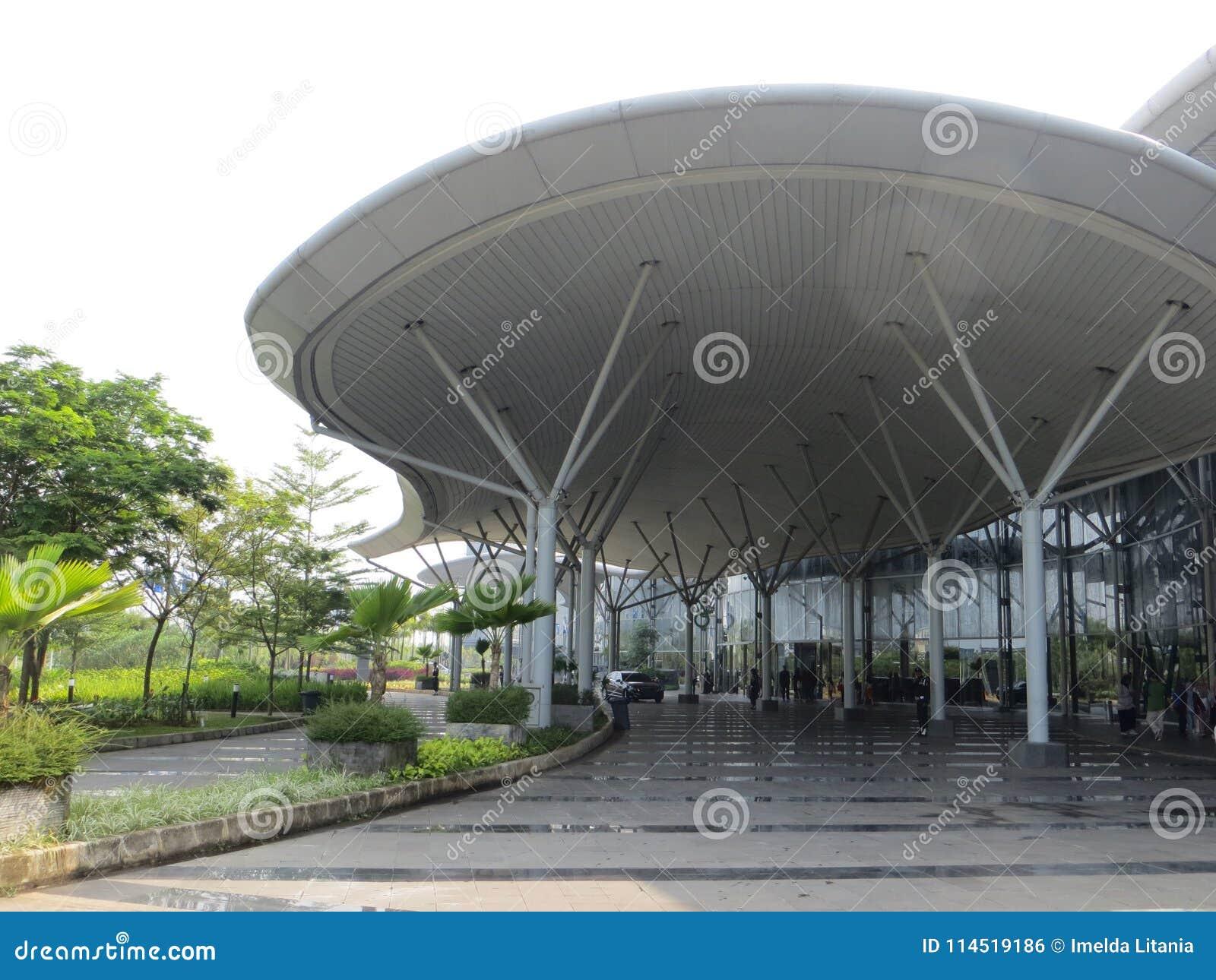 印度尼西亚大会陈列在坦格朗