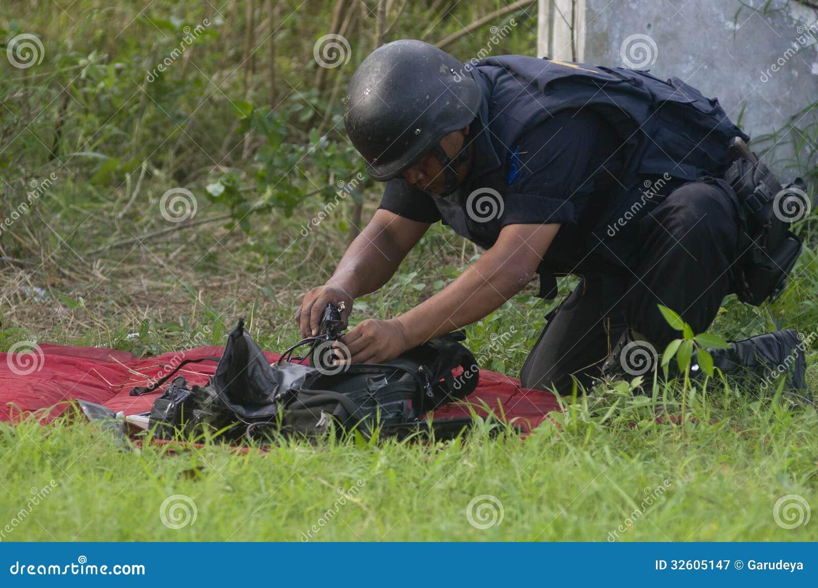 印度尼西亚拆弹小组