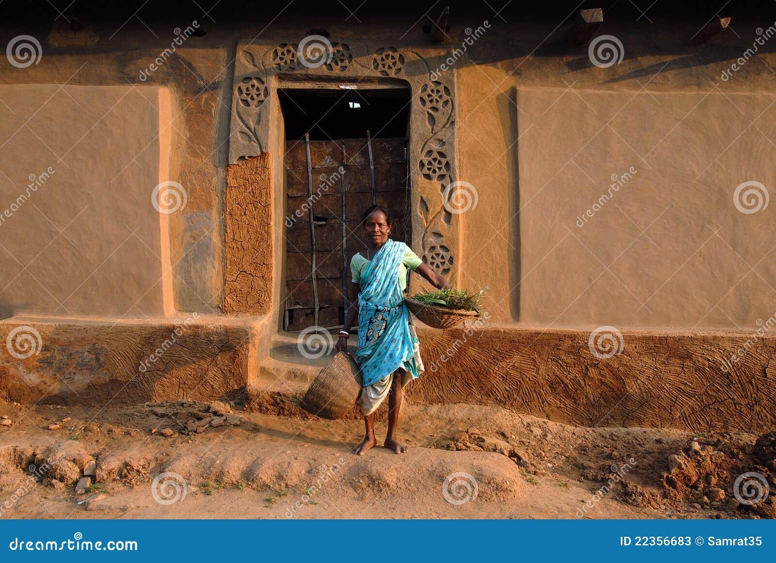 印度部族妇女