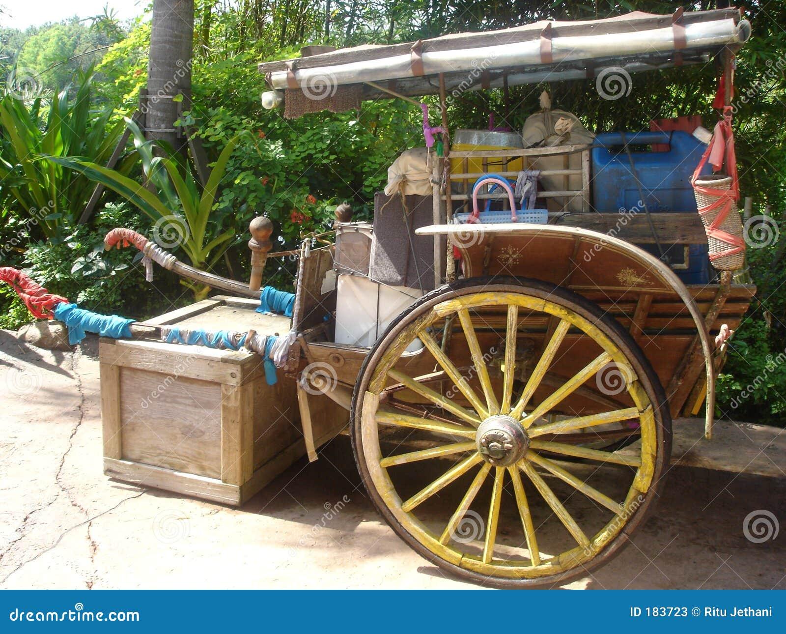 印第安人力车