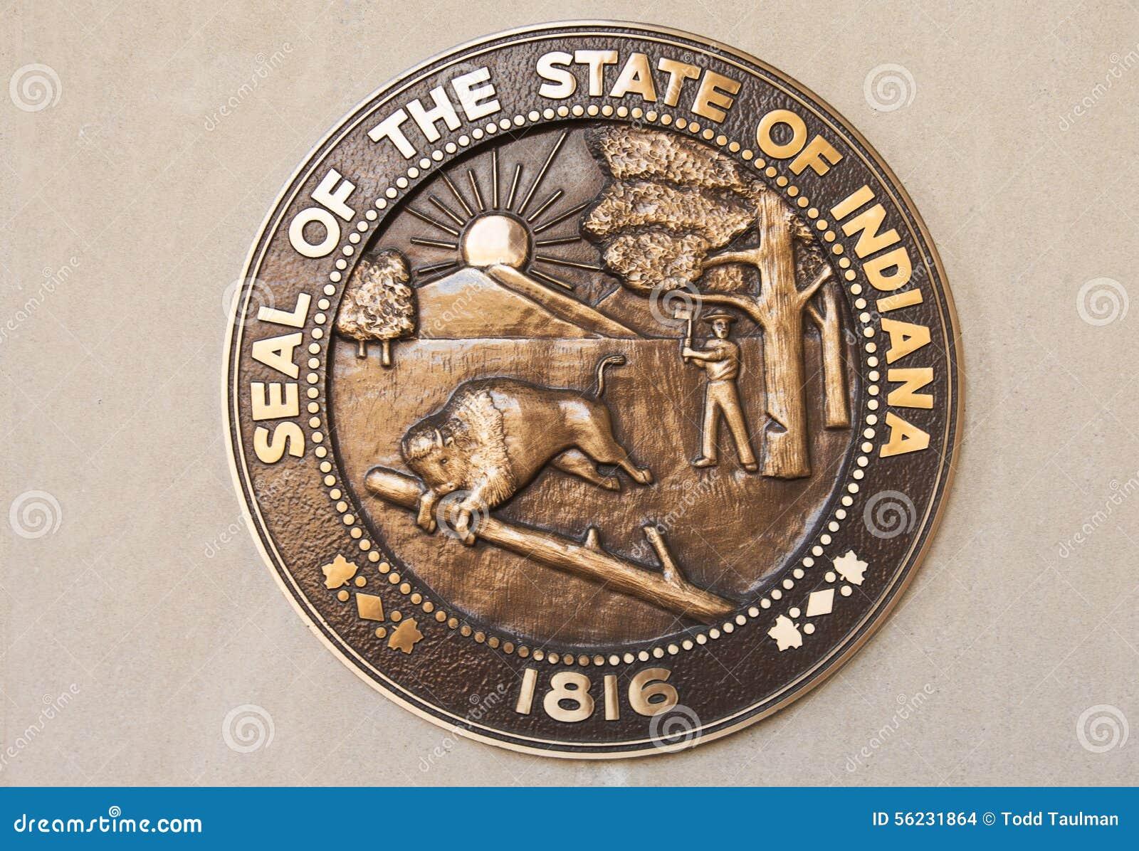 印第安纳州的封印