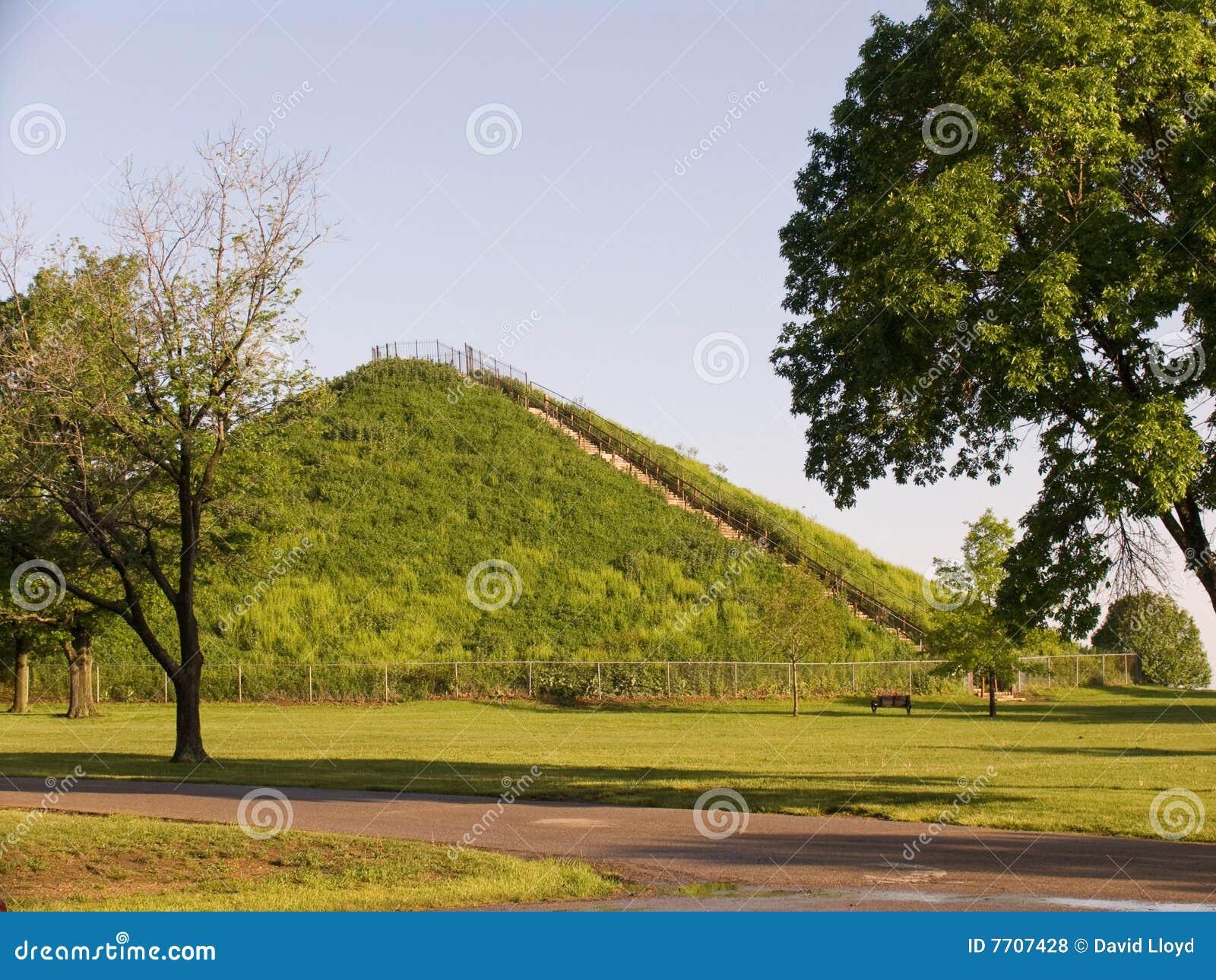 印第安miamisburg土墩