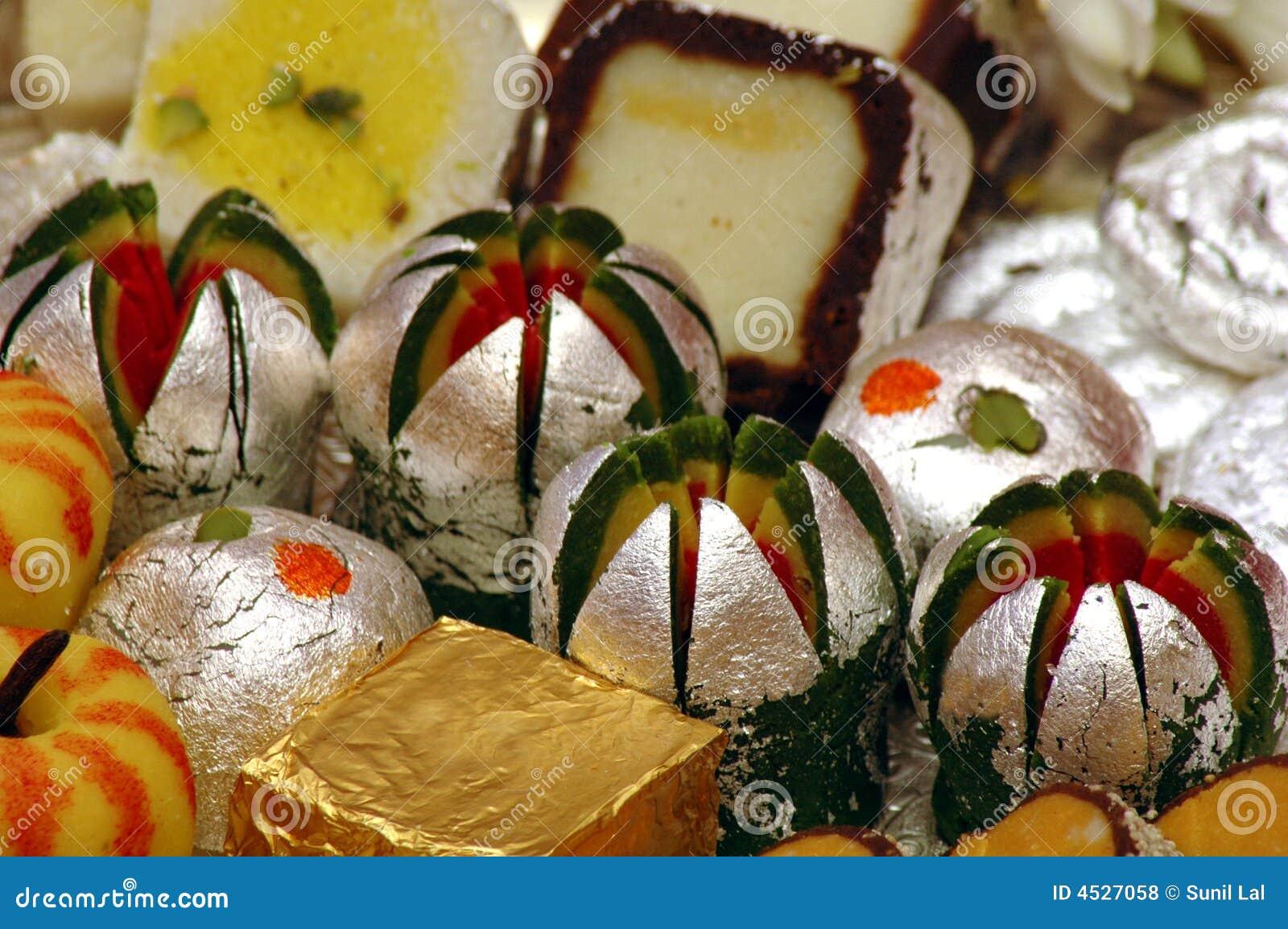 印第安mithai甜点