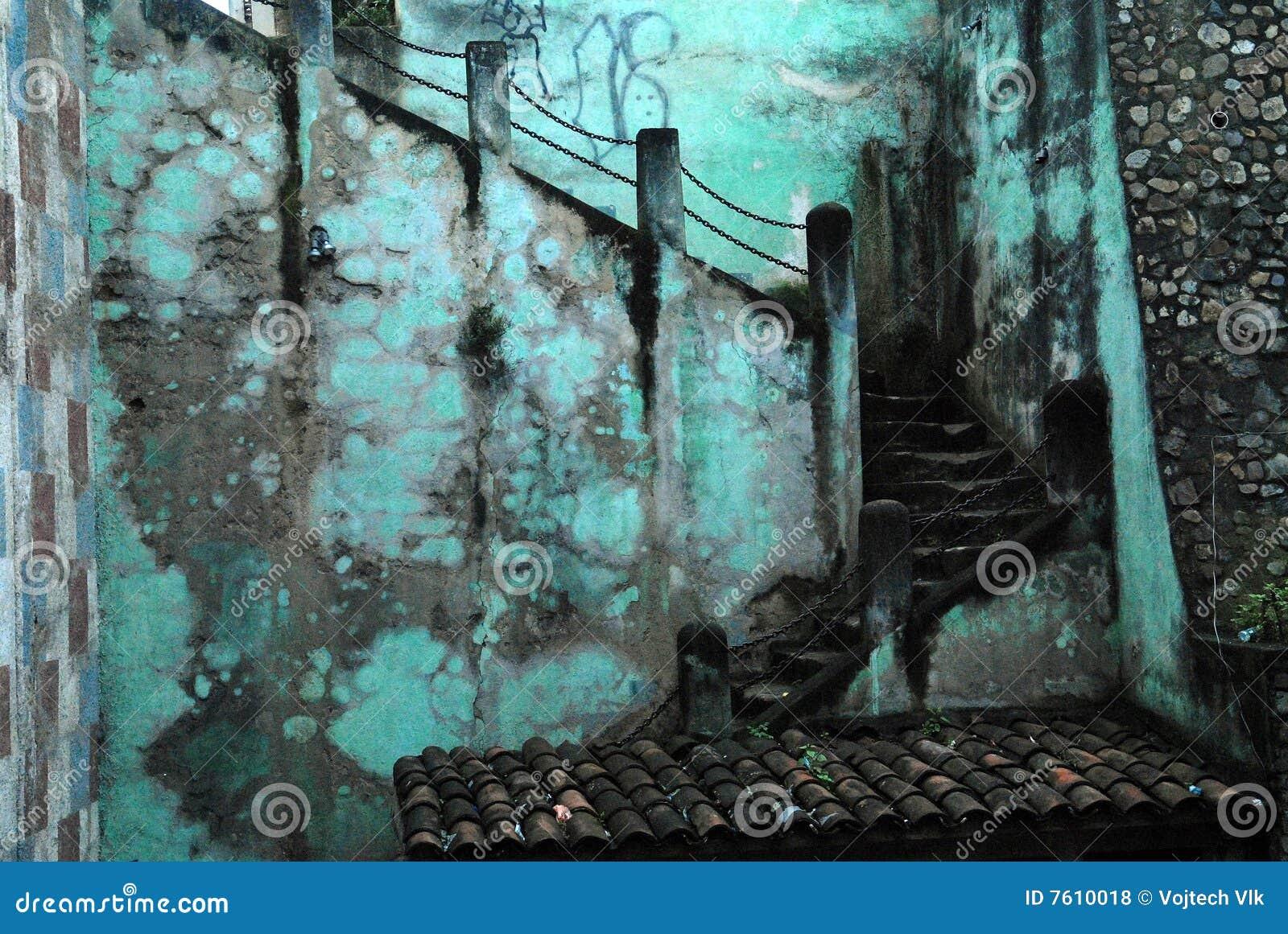 危地马拉楼梯