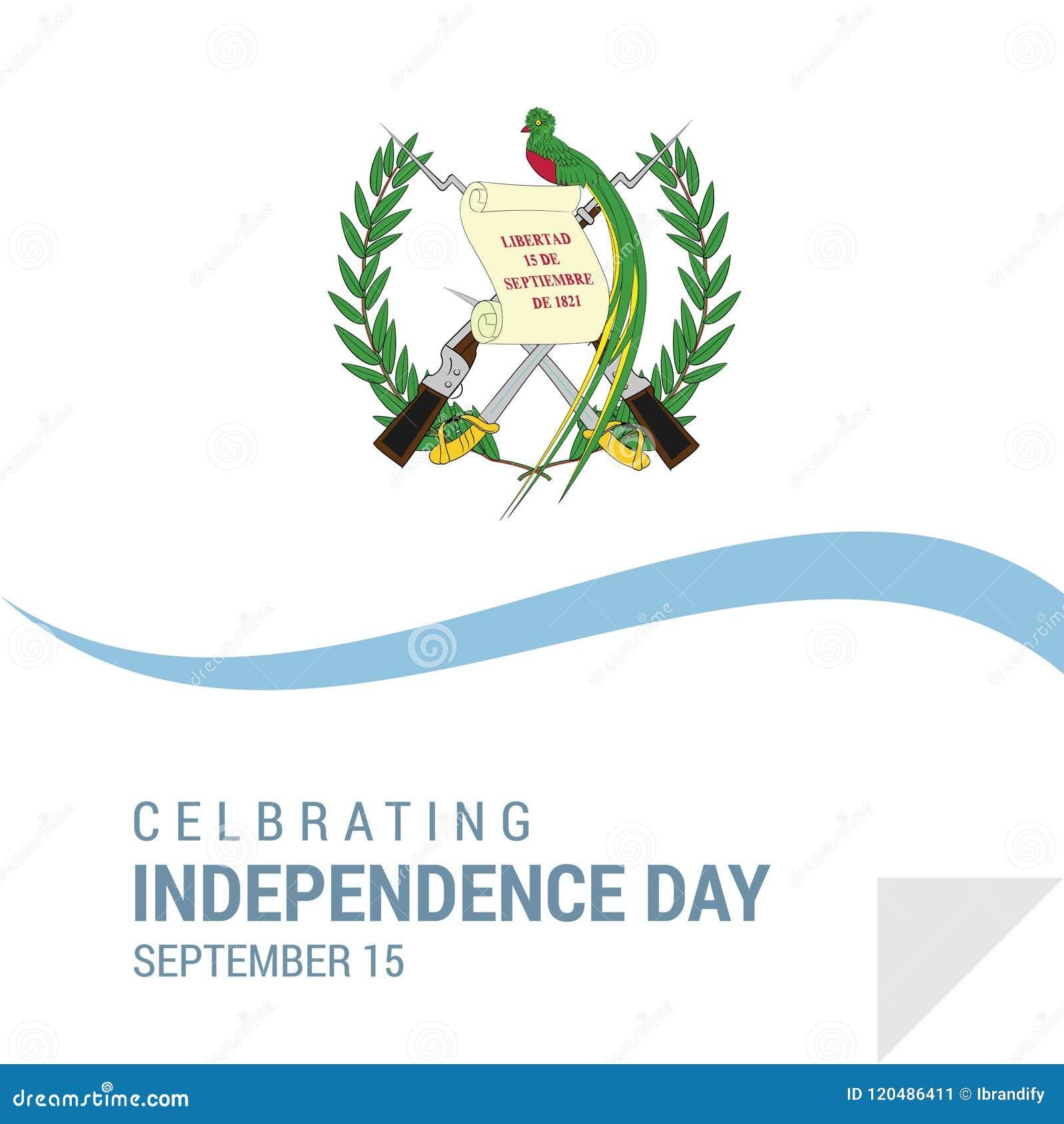 危地马拉美国独立日爱国设计